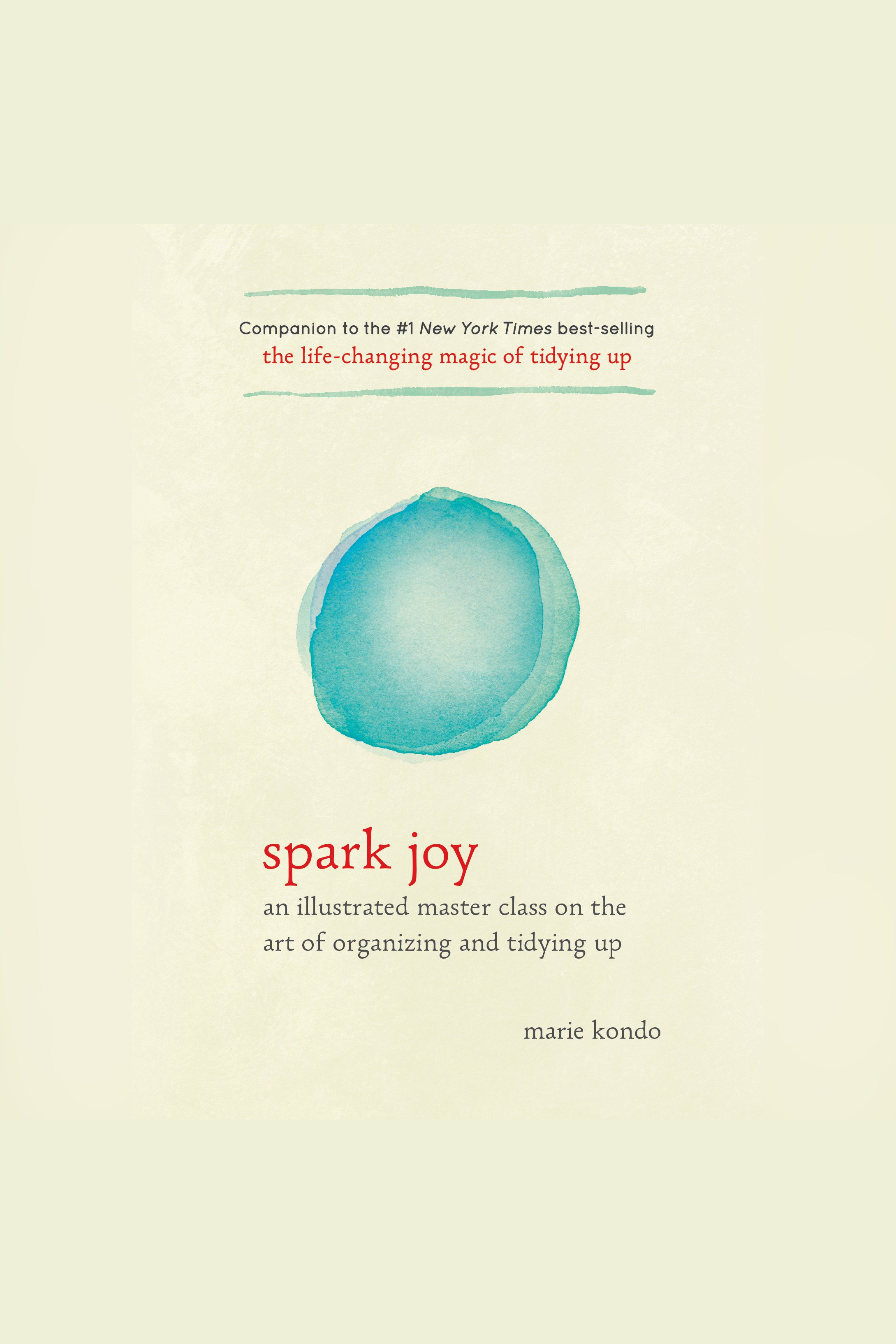 Spark Joy:A Master Class on the Art of Organizing and Tidying Up