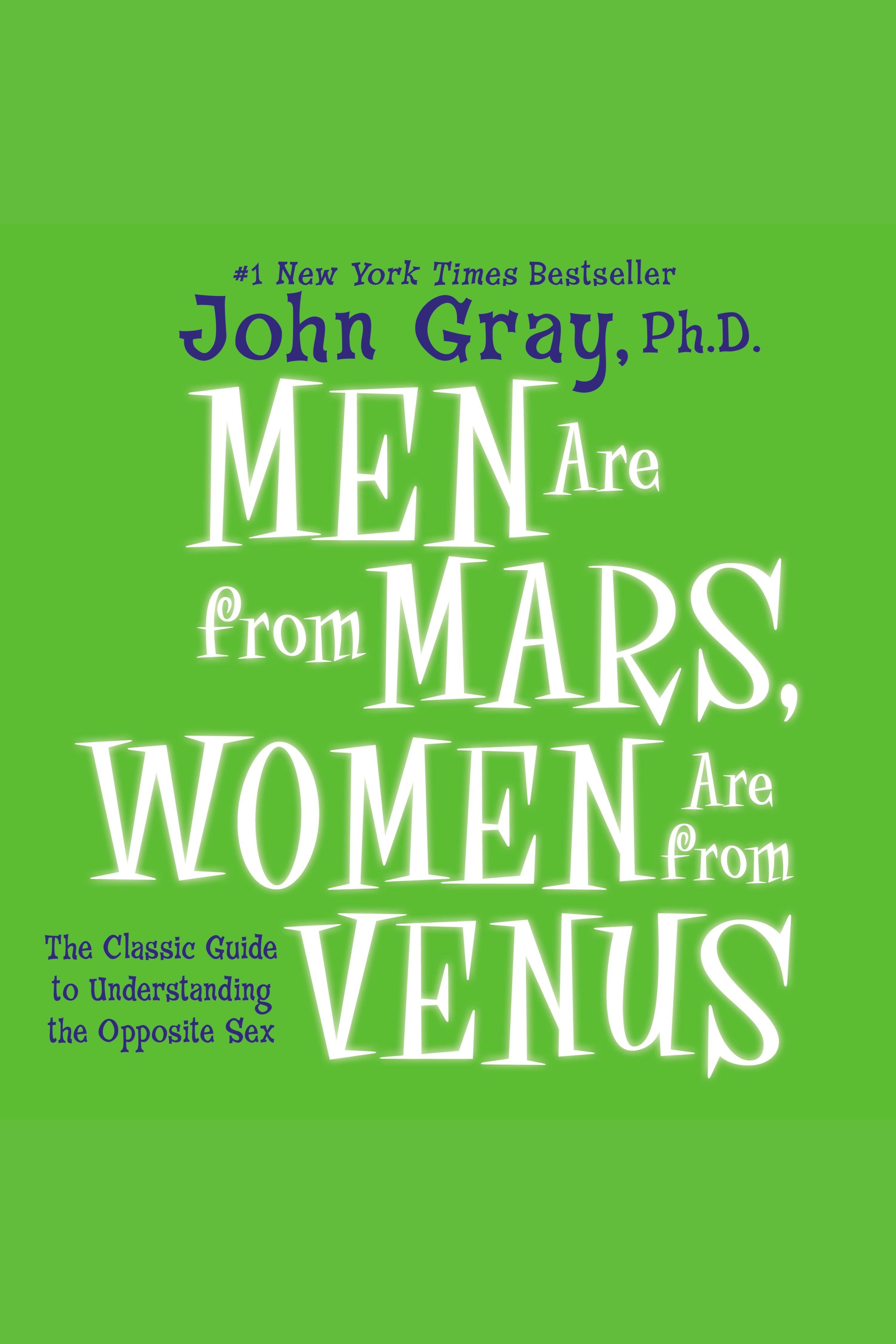 Esta es la portada del audiolibro Men are From Mars, Women are From Venus