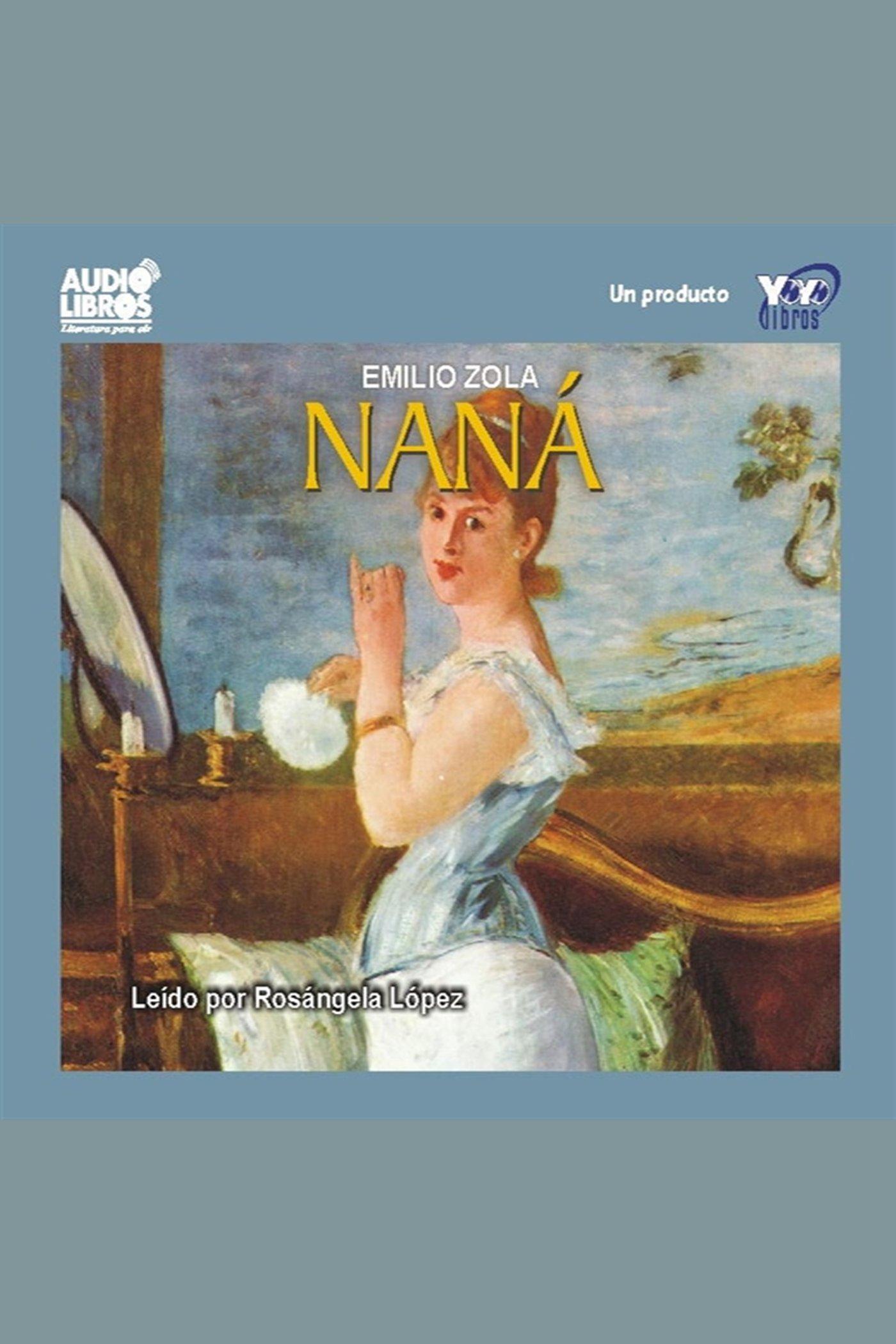 Esta es la portada del audiolibro Nana