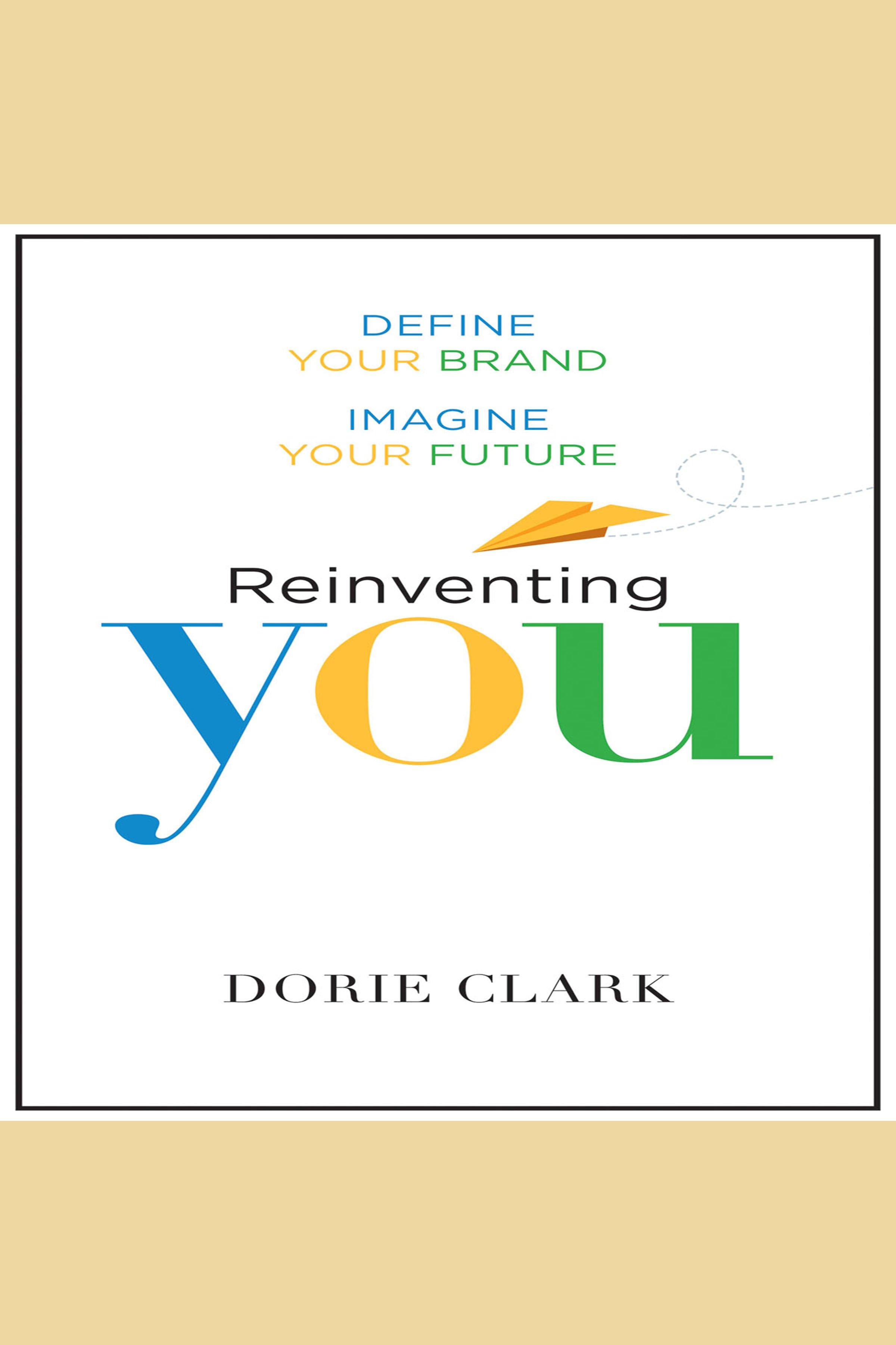 Esta es la portada del audiolibro Reinventing You