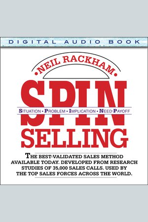SPIN Selling - NOOK Audiobooks