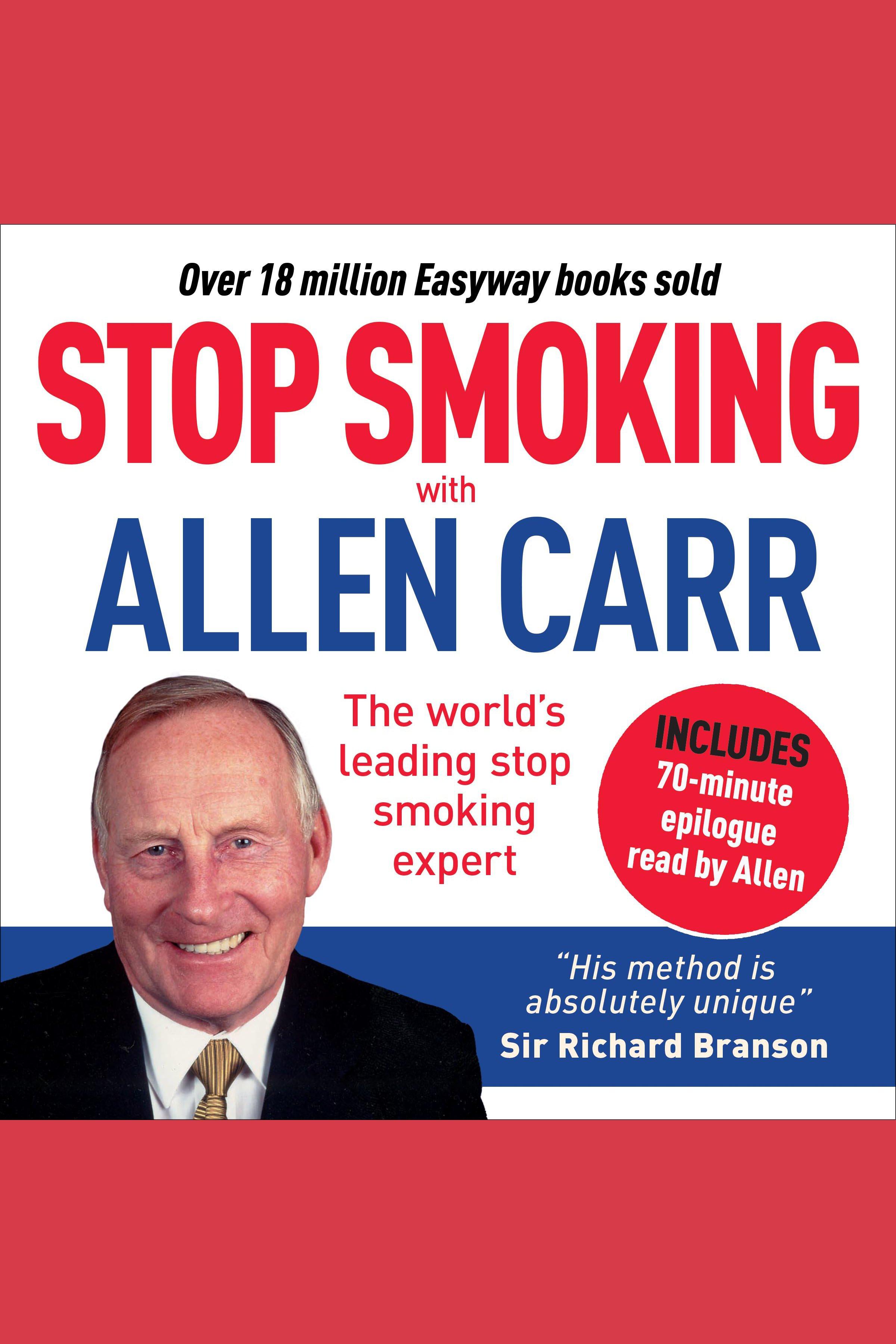 Esta es la portada del audiolibro Stop Smoking with Allen Carr