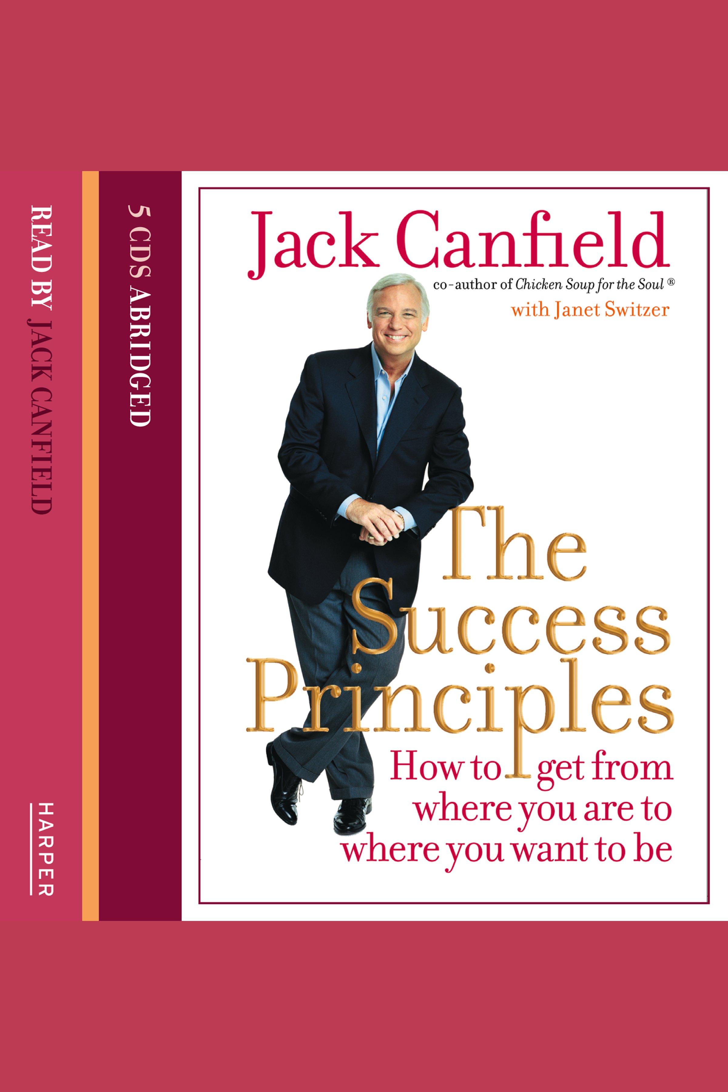 Esta es la portada del audiolibro Success Principles, The