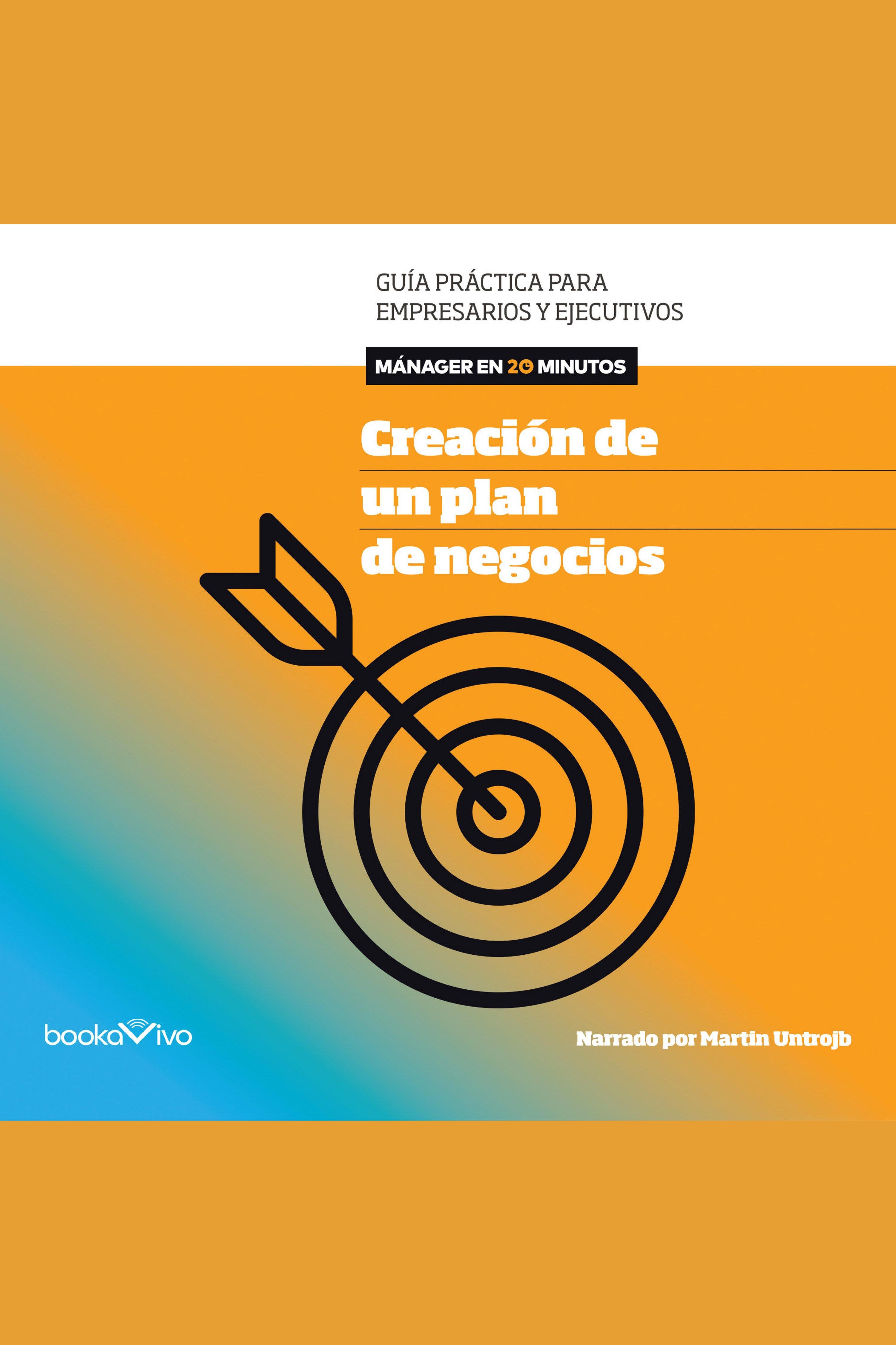 Esta es la portada del audiolibro Creación de un plan de negocios (Creating Business Plans)
