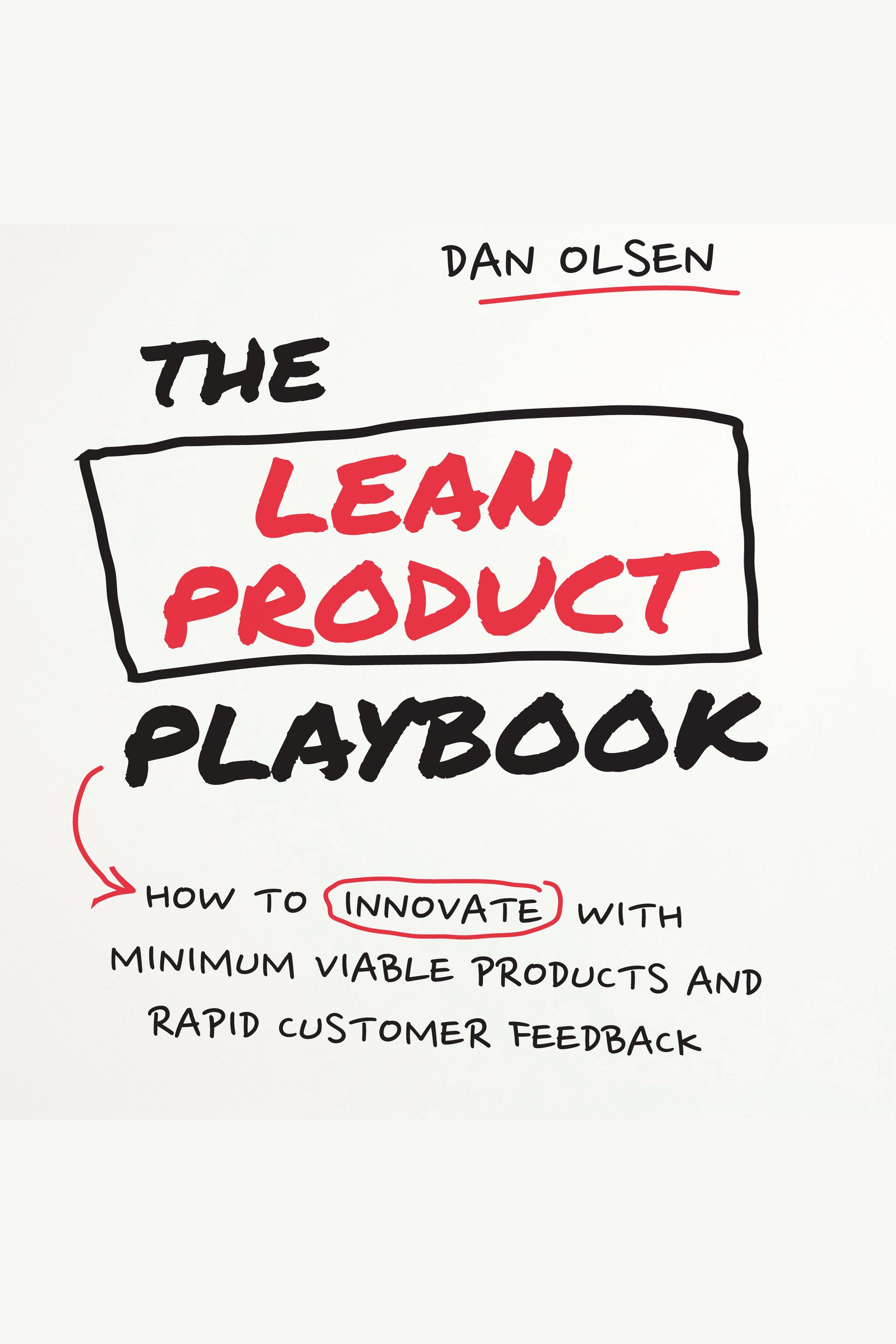 Esta es la portada del audiolibro Lean Product Playbook, The