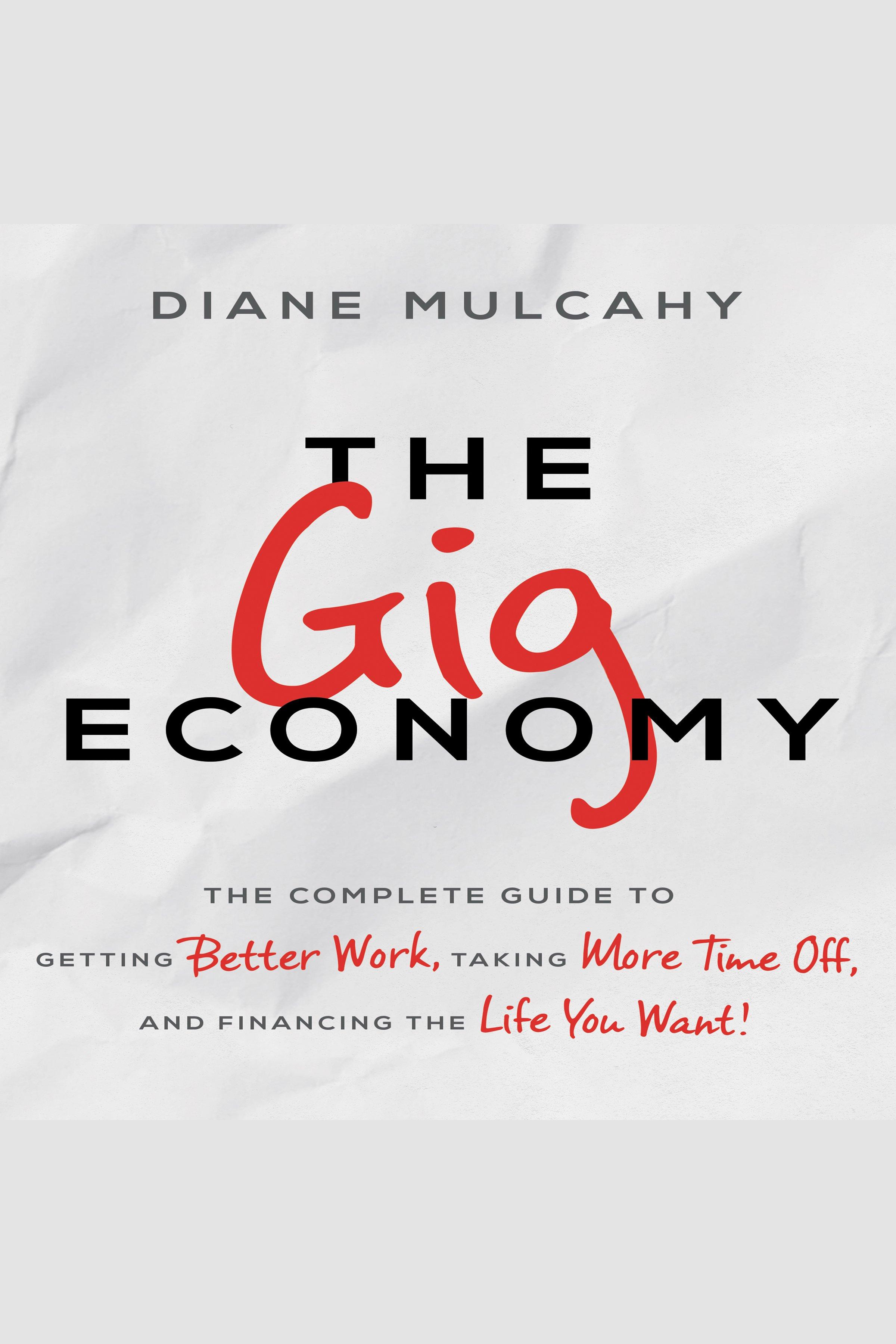 Esta es la portada del audiolibro Gig Economy, The