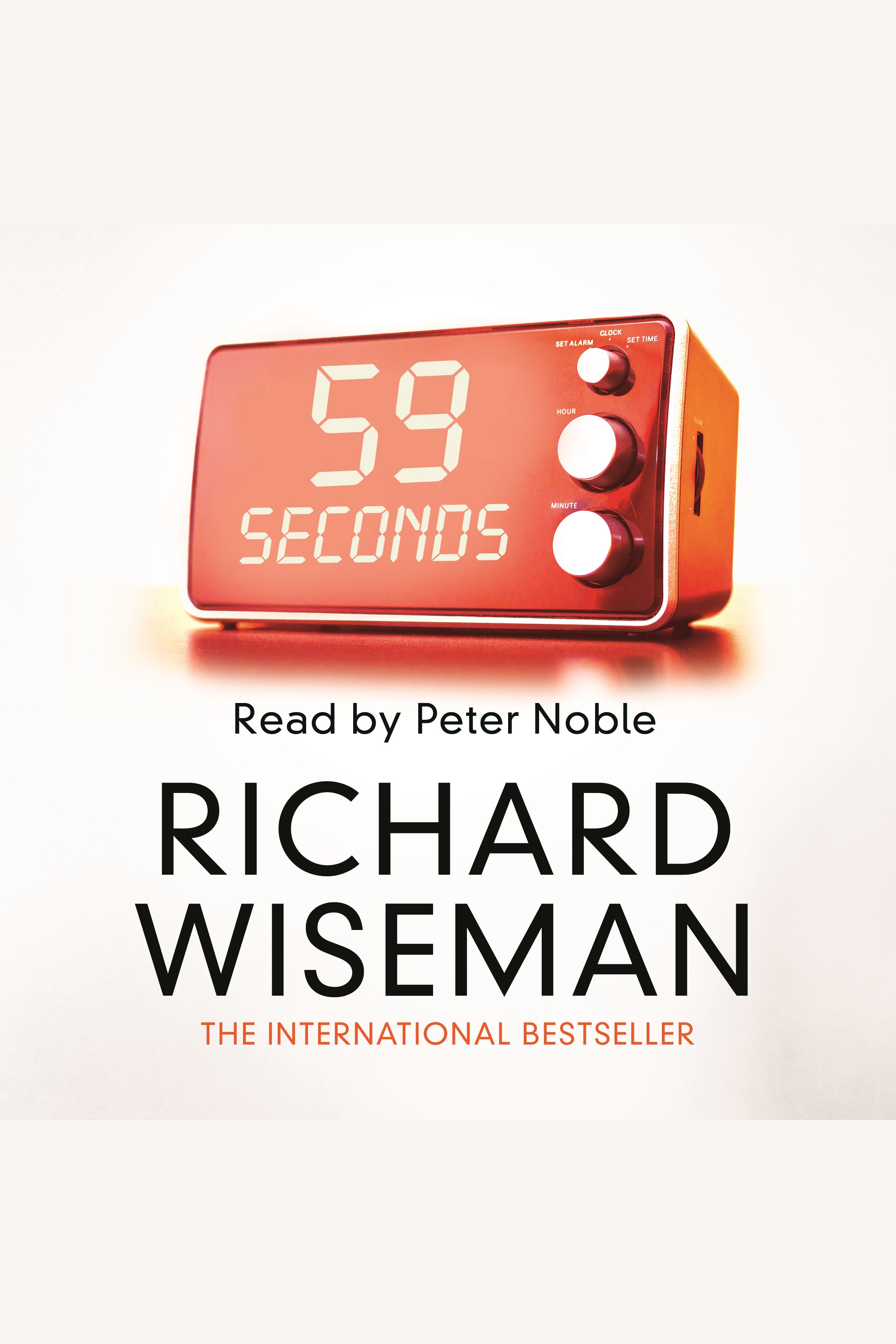 Esta es la portada del audiolibro 59 Seconds