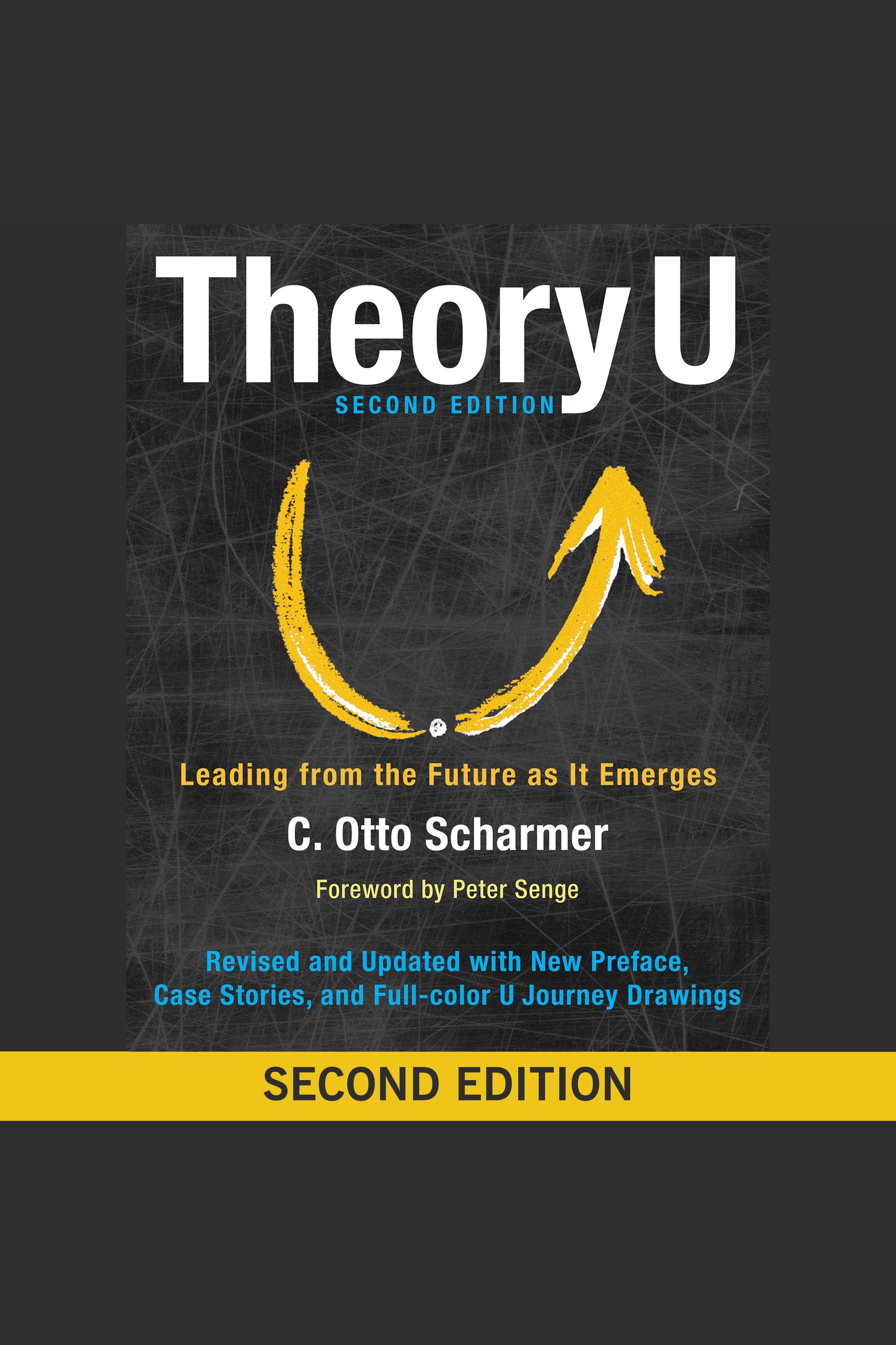 Esta es la portada del audiolibro Theory U