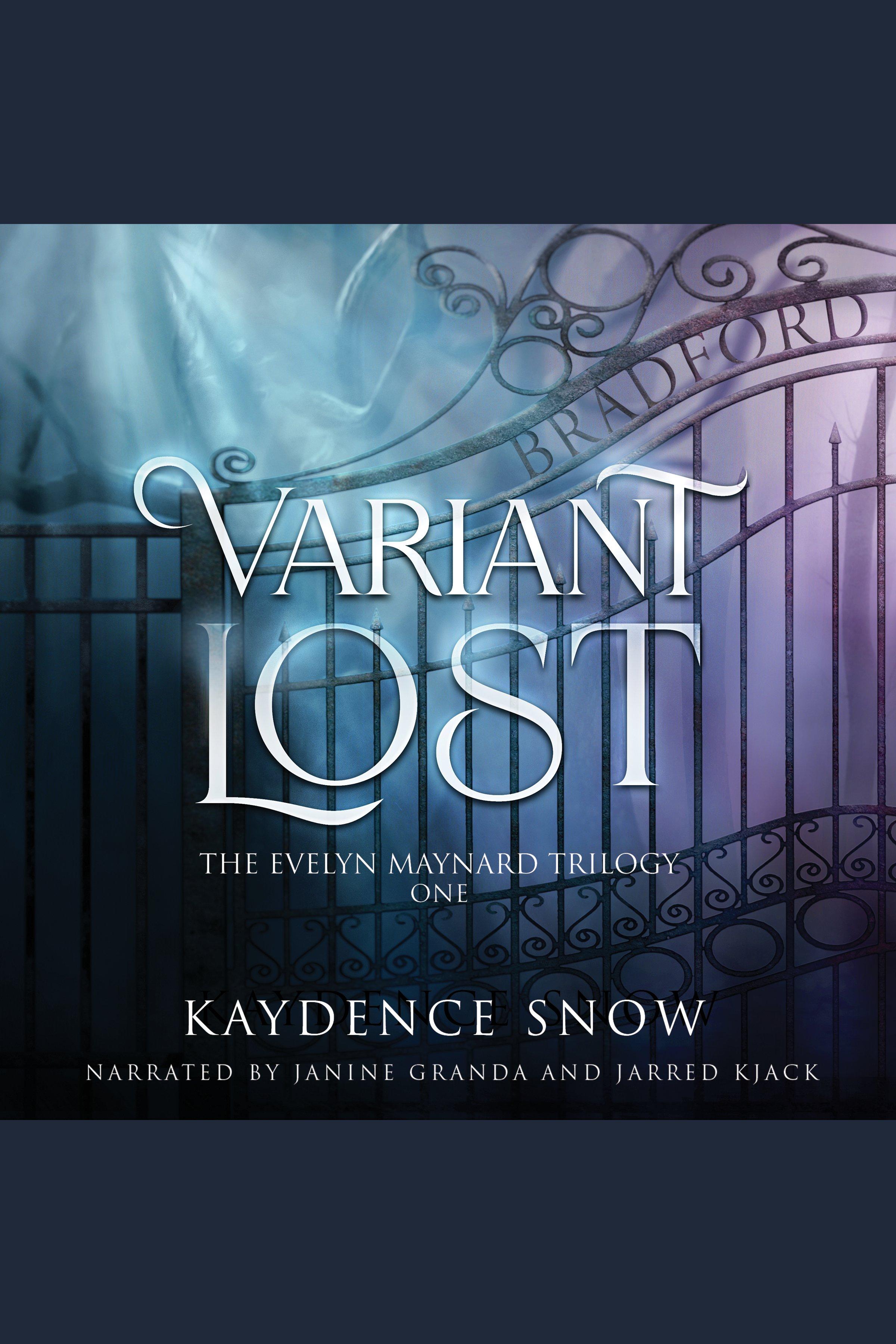 Esta es la portada del audiolibro Variant Lost