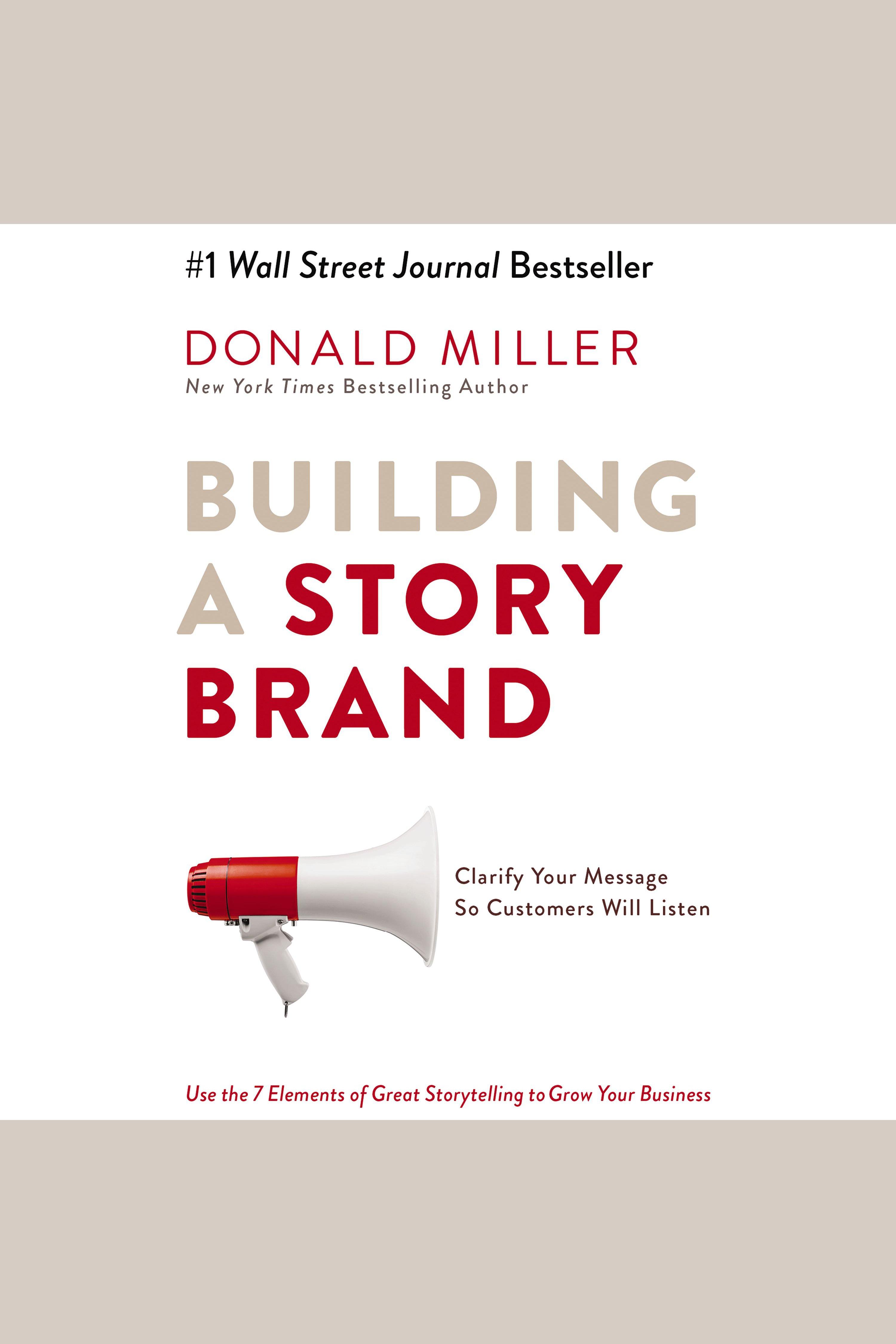 Esta es la portada del audiolibro Building a StoryBrand