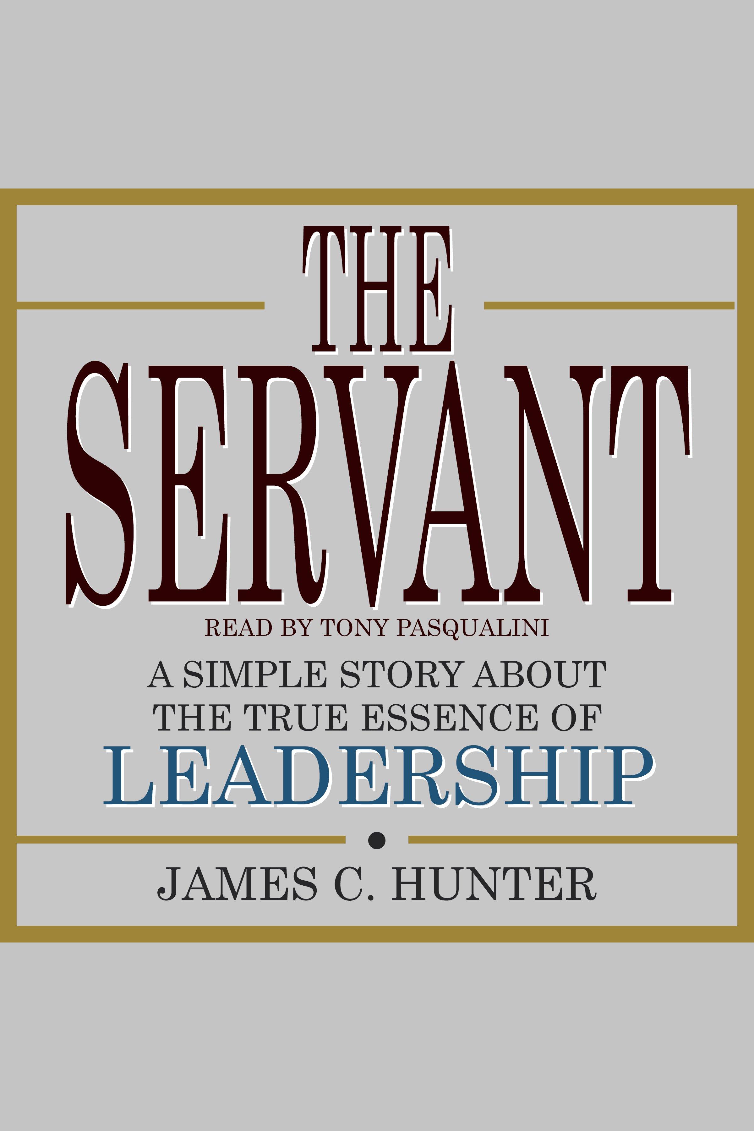 Esta es la portada del audiolibro Servant, The