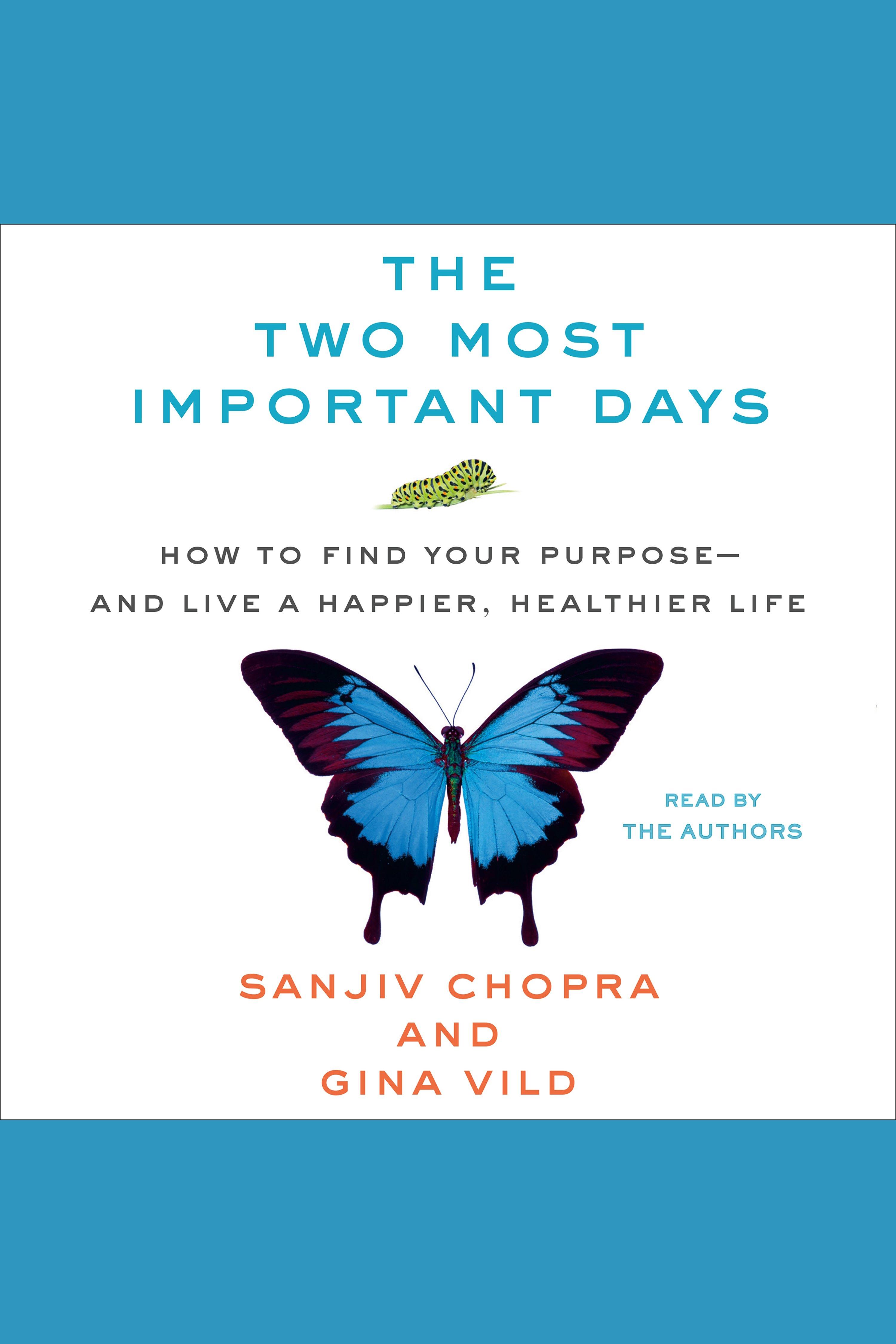 Esta es la portada del audiolibro Two Most Important Days, The
