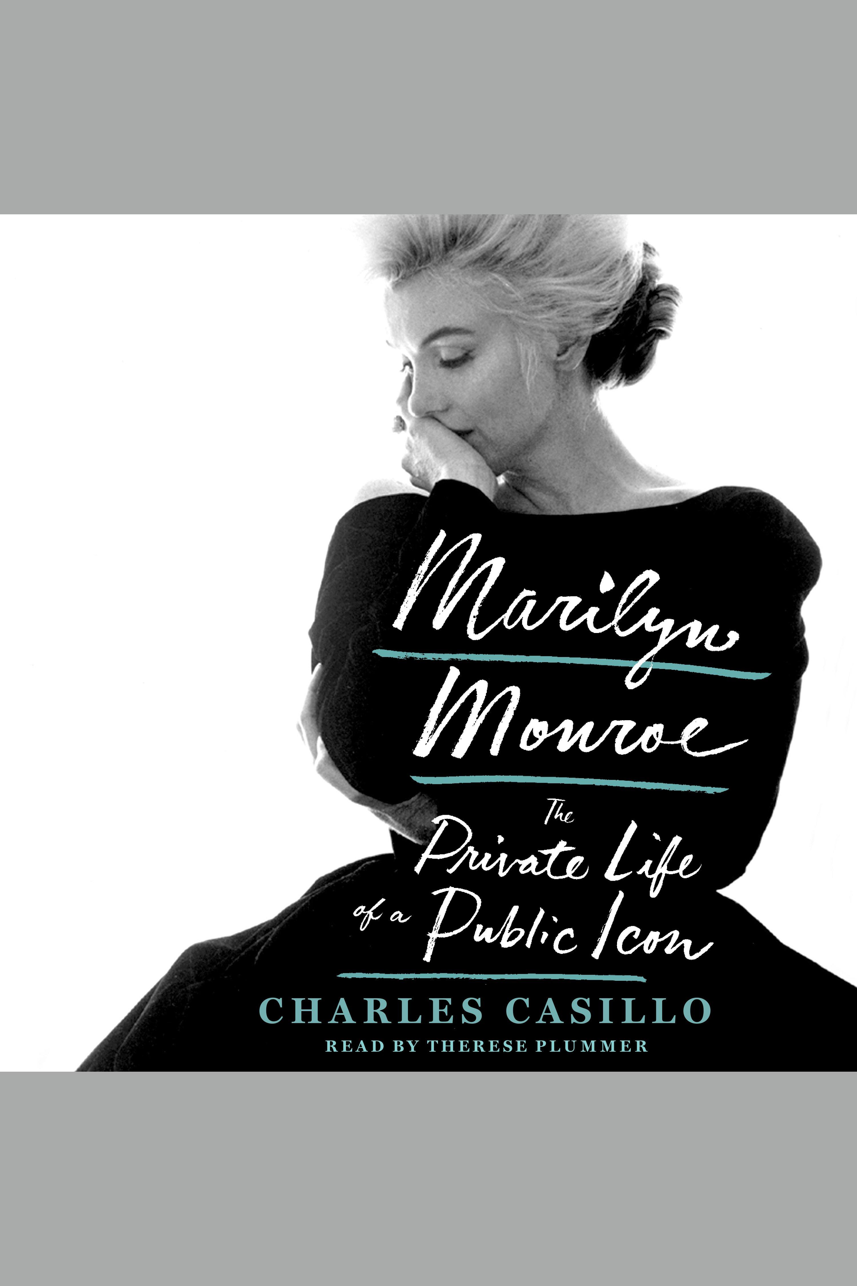 Esta es la portada del audiolibro Marilyn Monroe