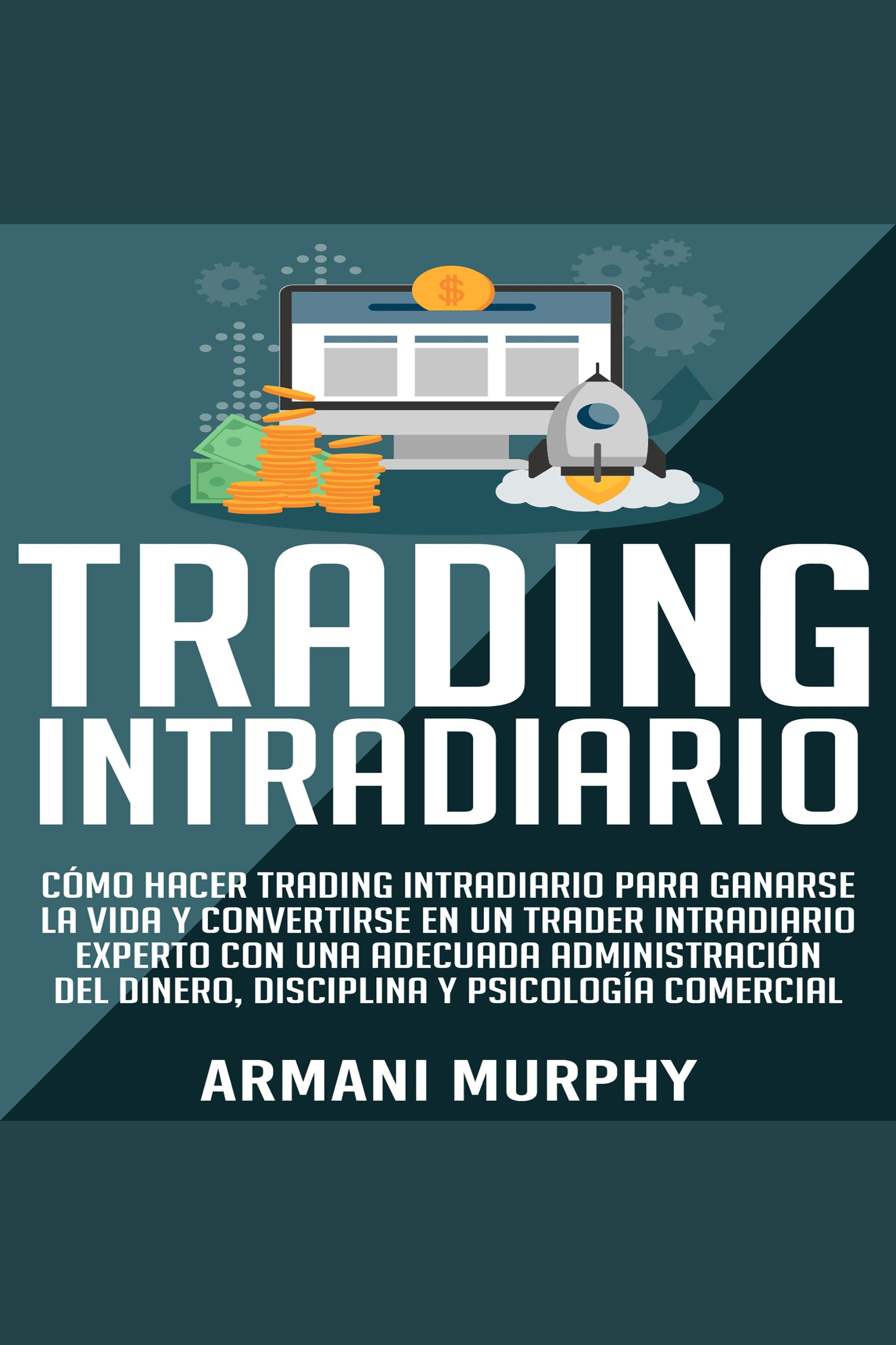 Esta es la portada del audiolibro Trading Intradiario