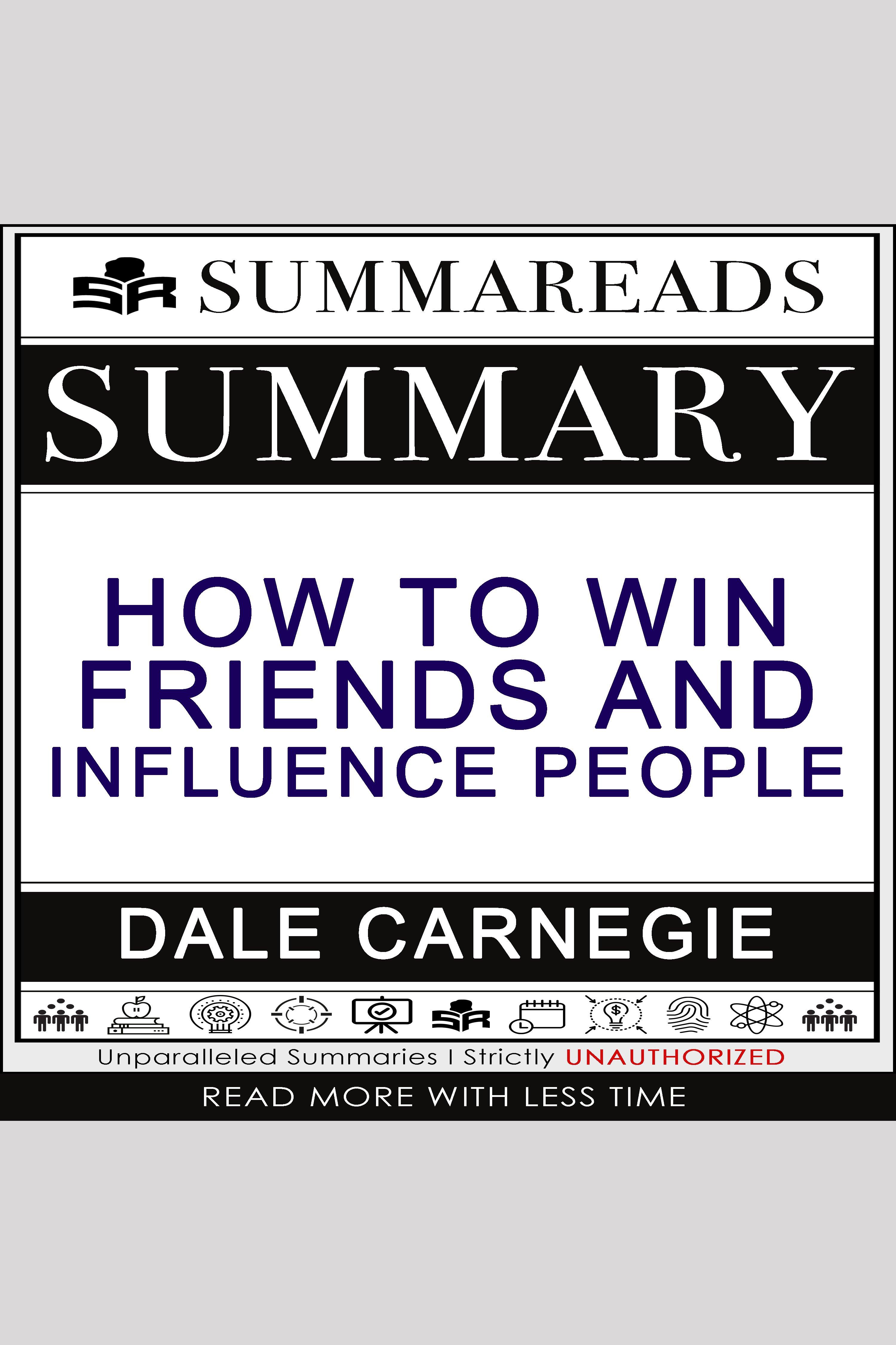 Esta es la portada del audiolibro Summary of How to Win Friends & Influence People by Dale Carnegie