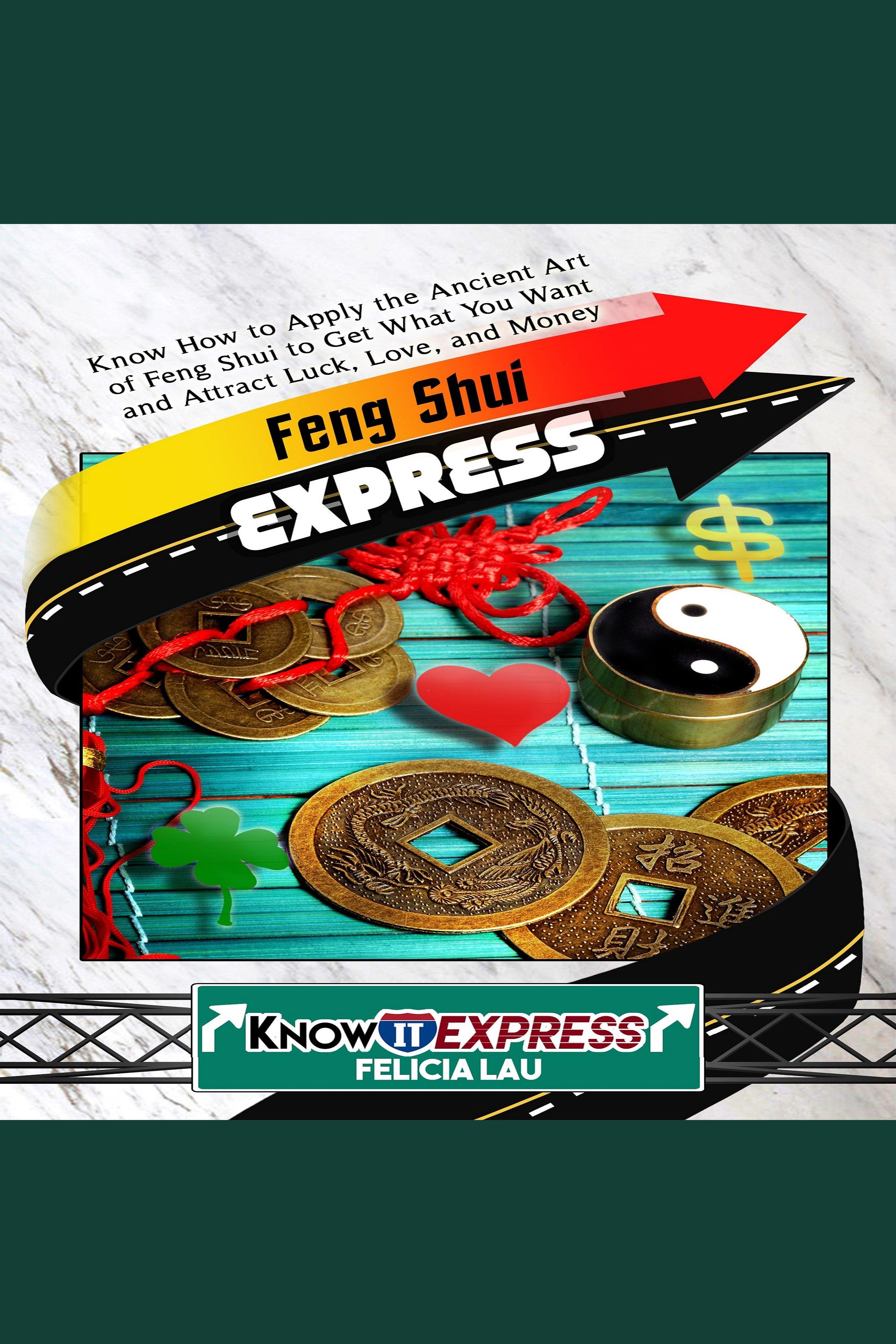 Esta es la portada del audiolibro Feng Shui Express