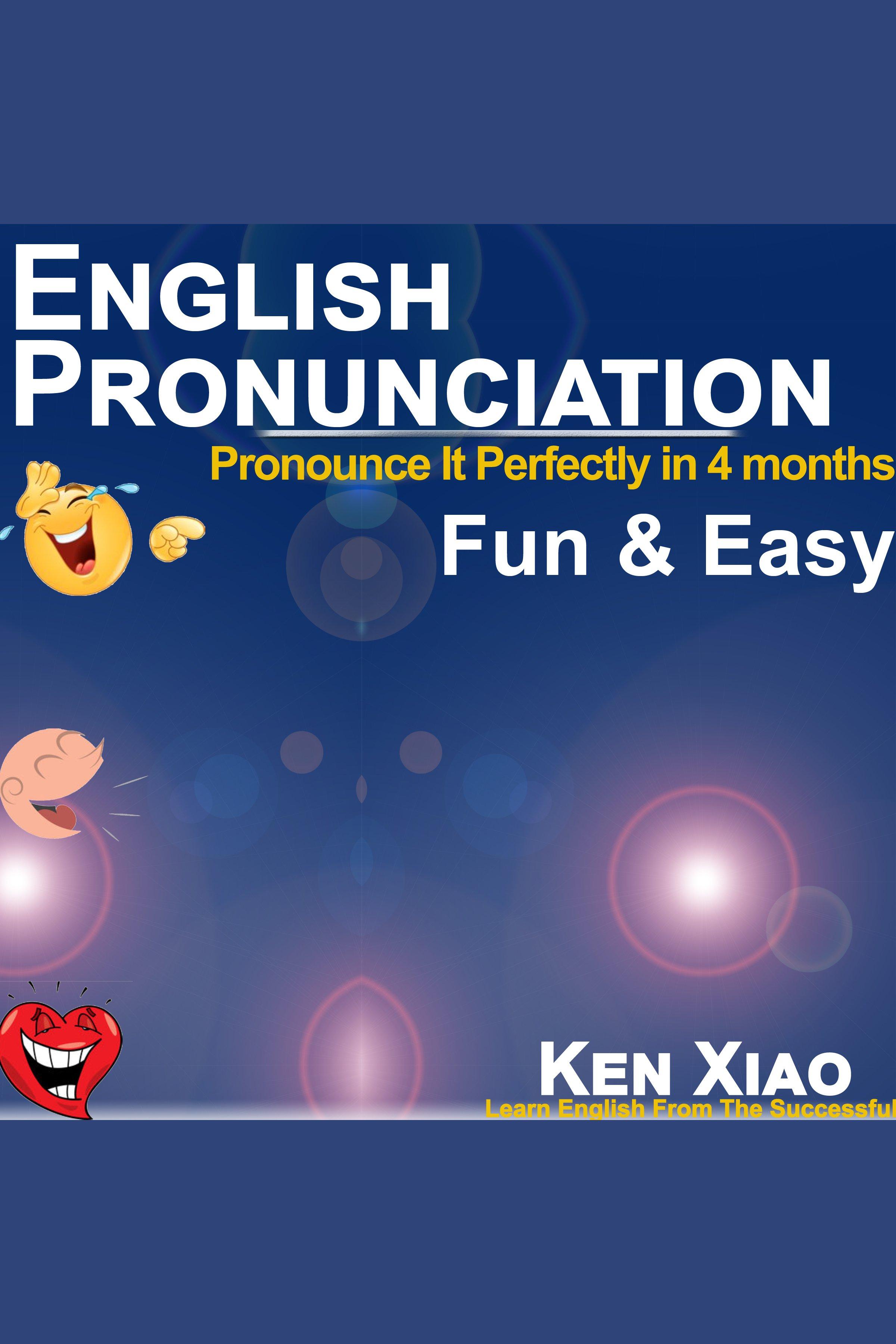 Esta es la portada del audiolibro English Pronunciation