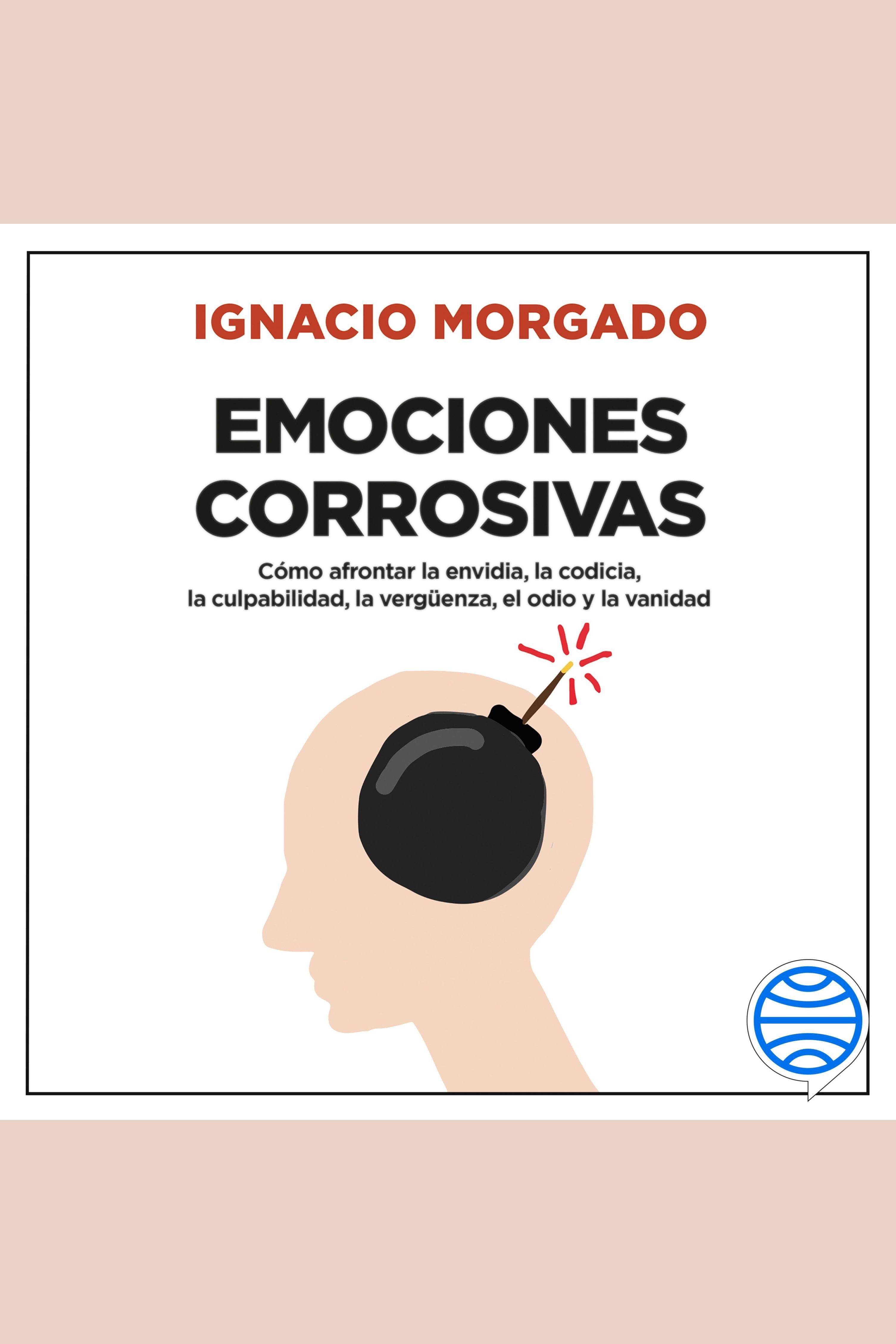 Esta es la portada del audiolibro Emociones corrosivas
