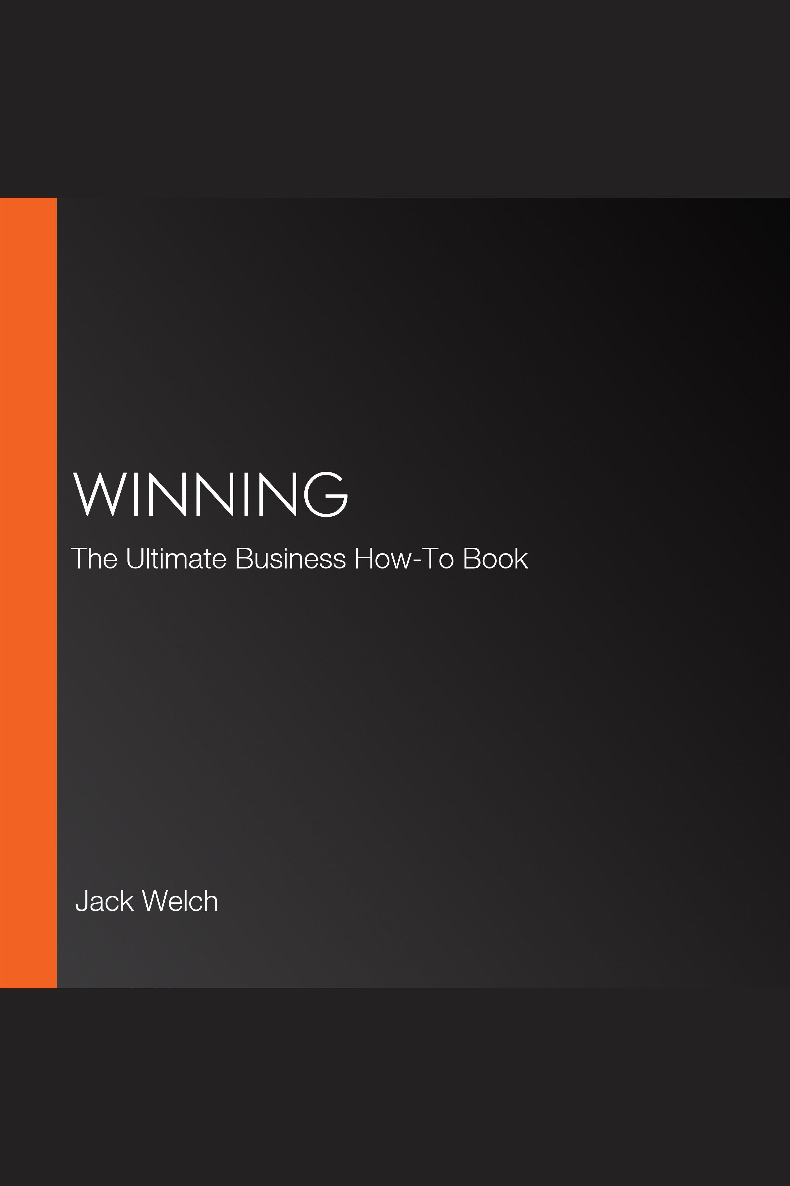 Esta es la portada del audiolibro Winning