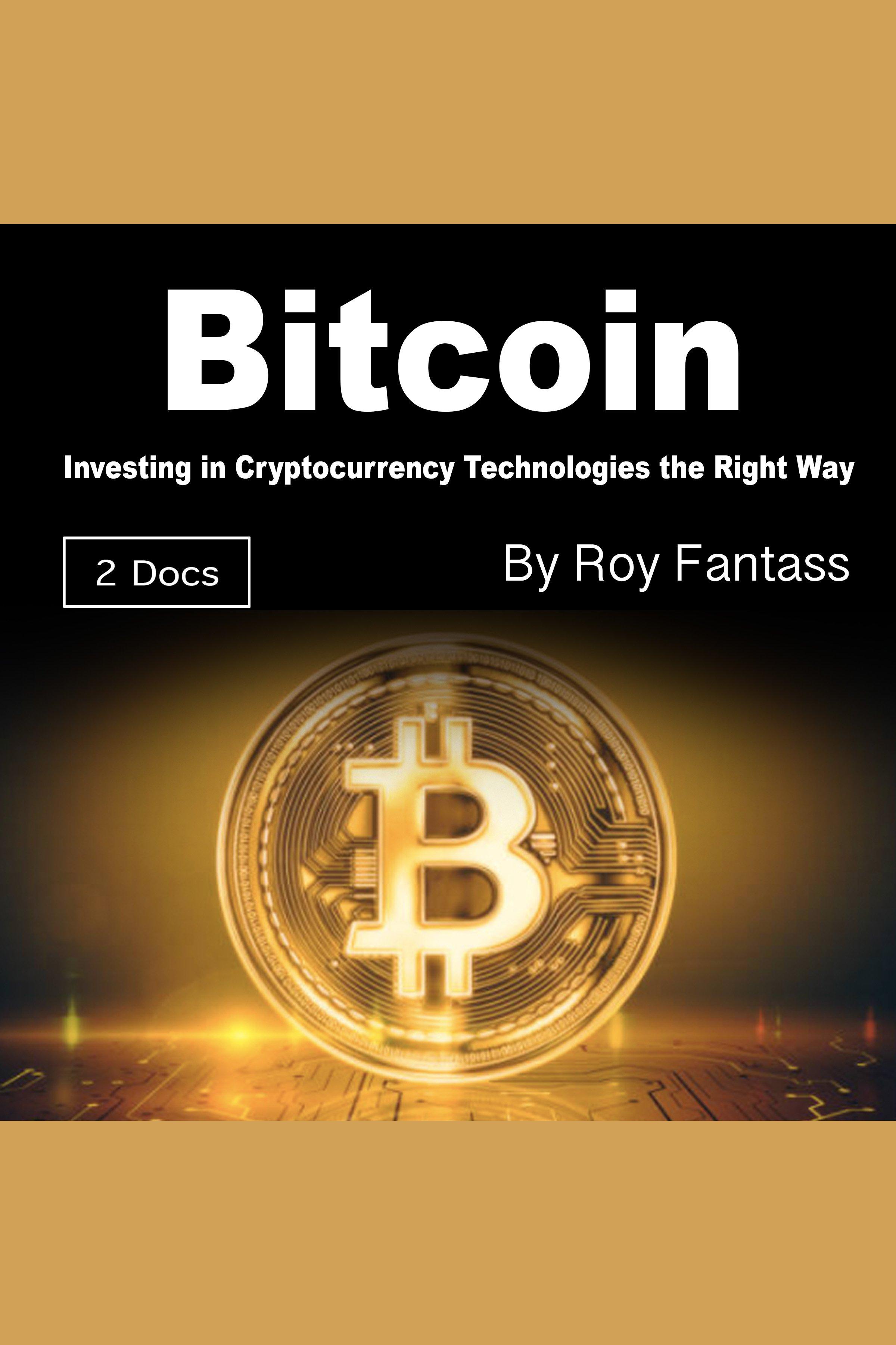 Esta es la portada del audiolibro Bitcoin