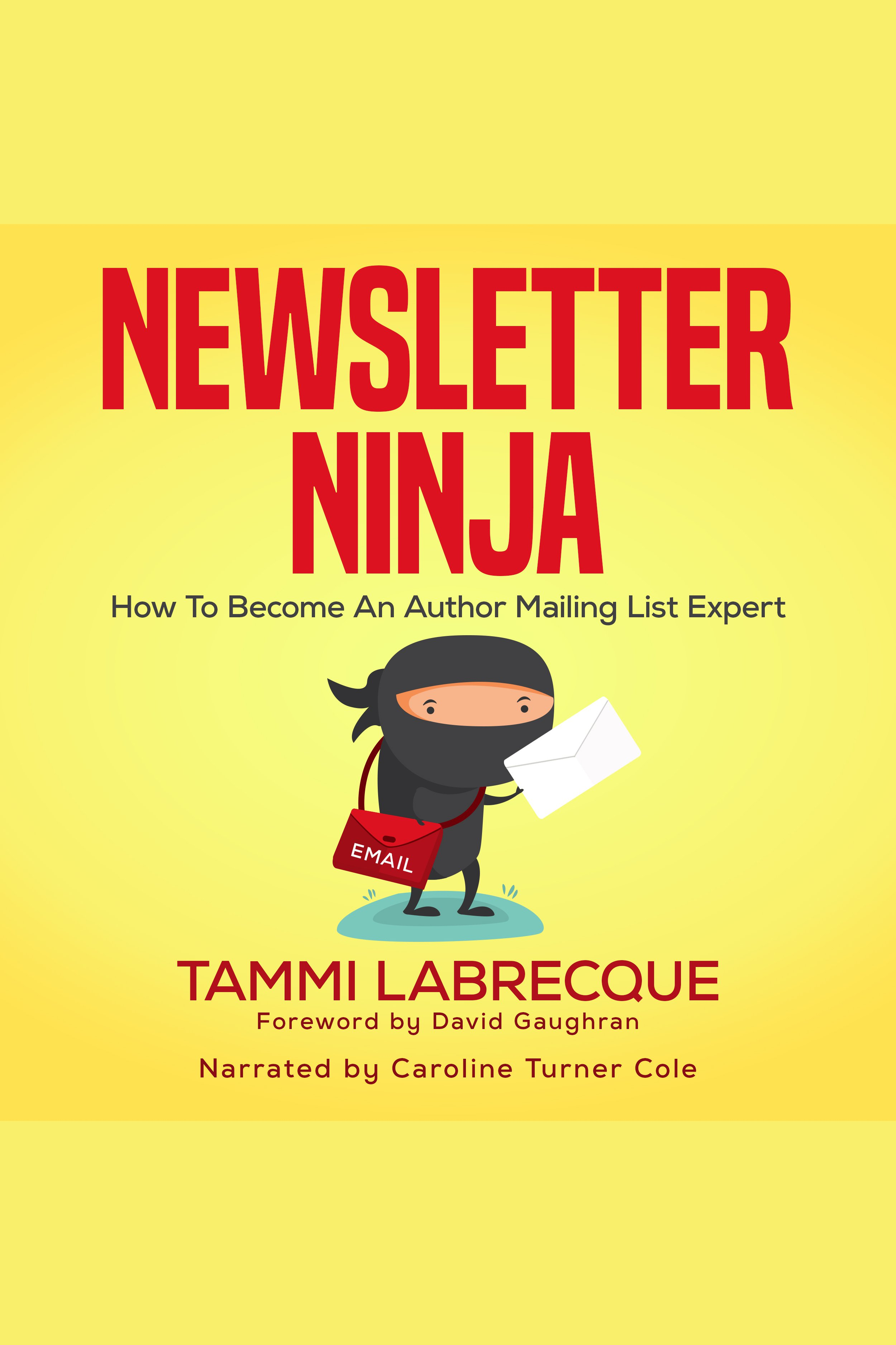 Esta es la portada del audiolibro Newsletter Ninja