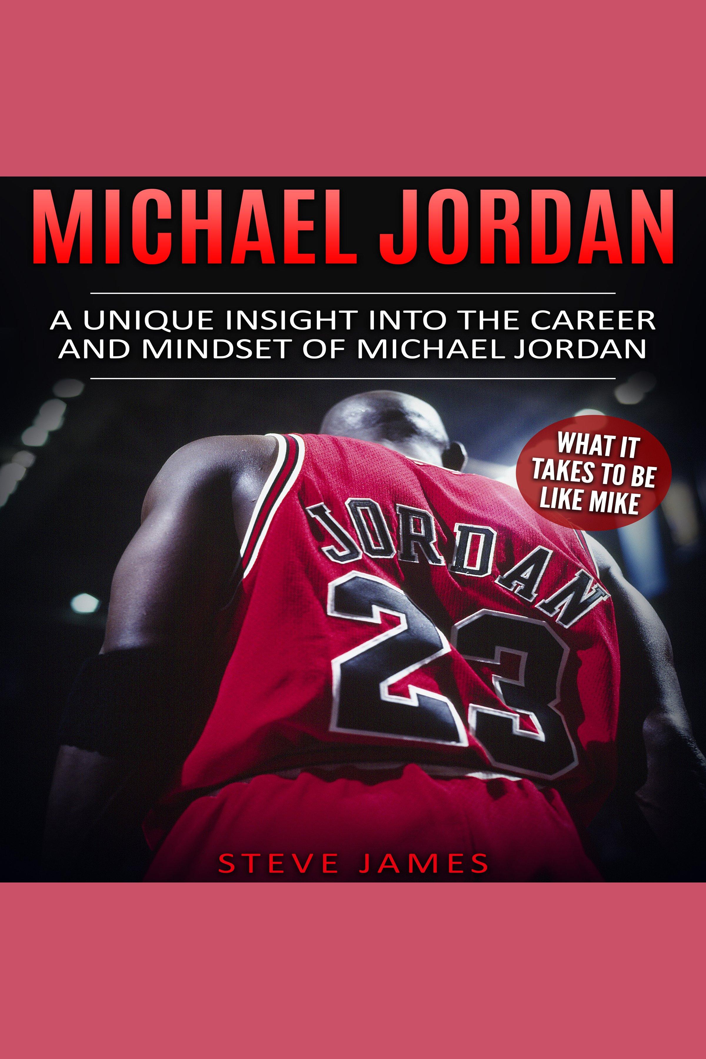 Esta es la portada del audiolibro Michael Jordan