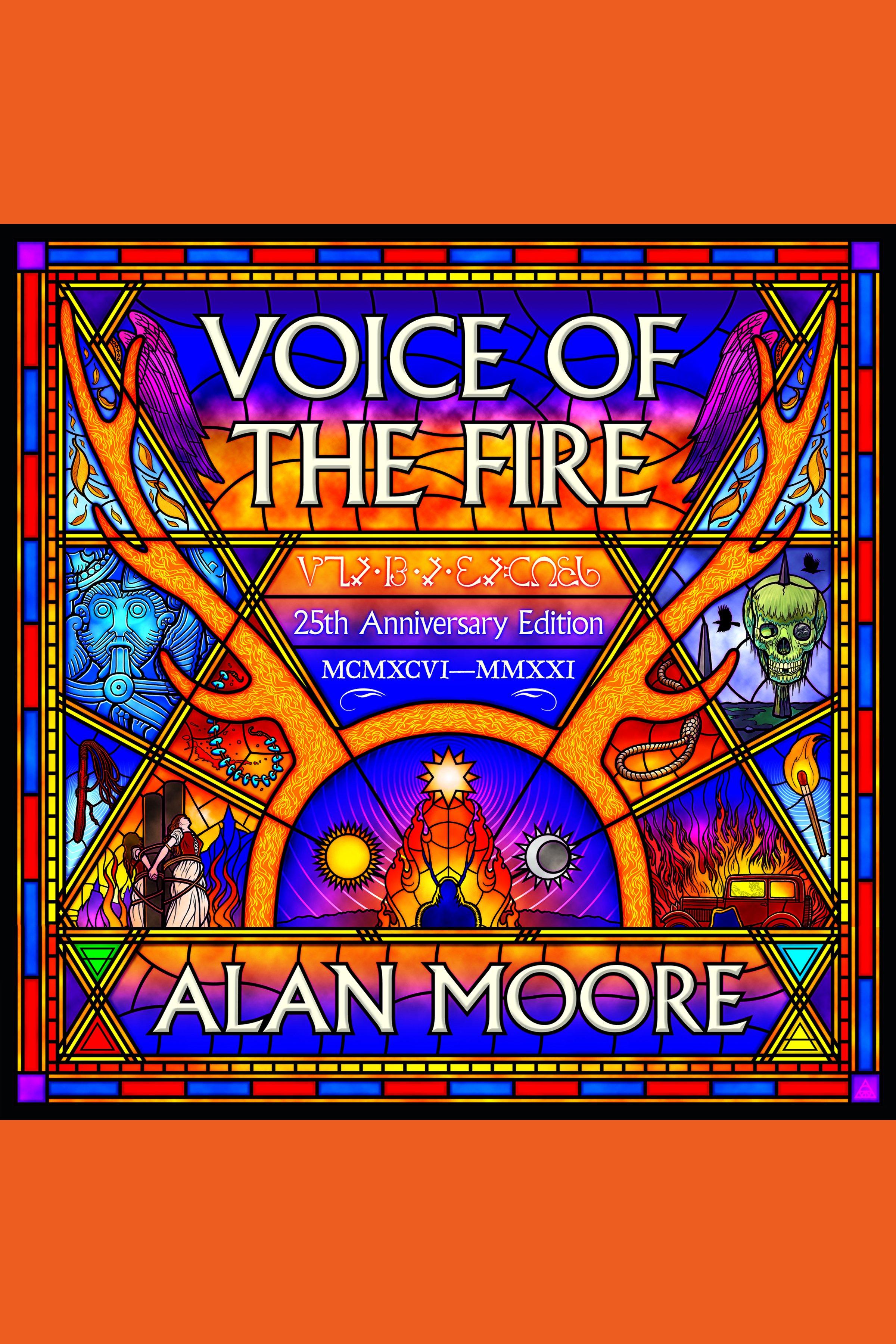 Esta es la portada del audiolibro Voice of the Fire