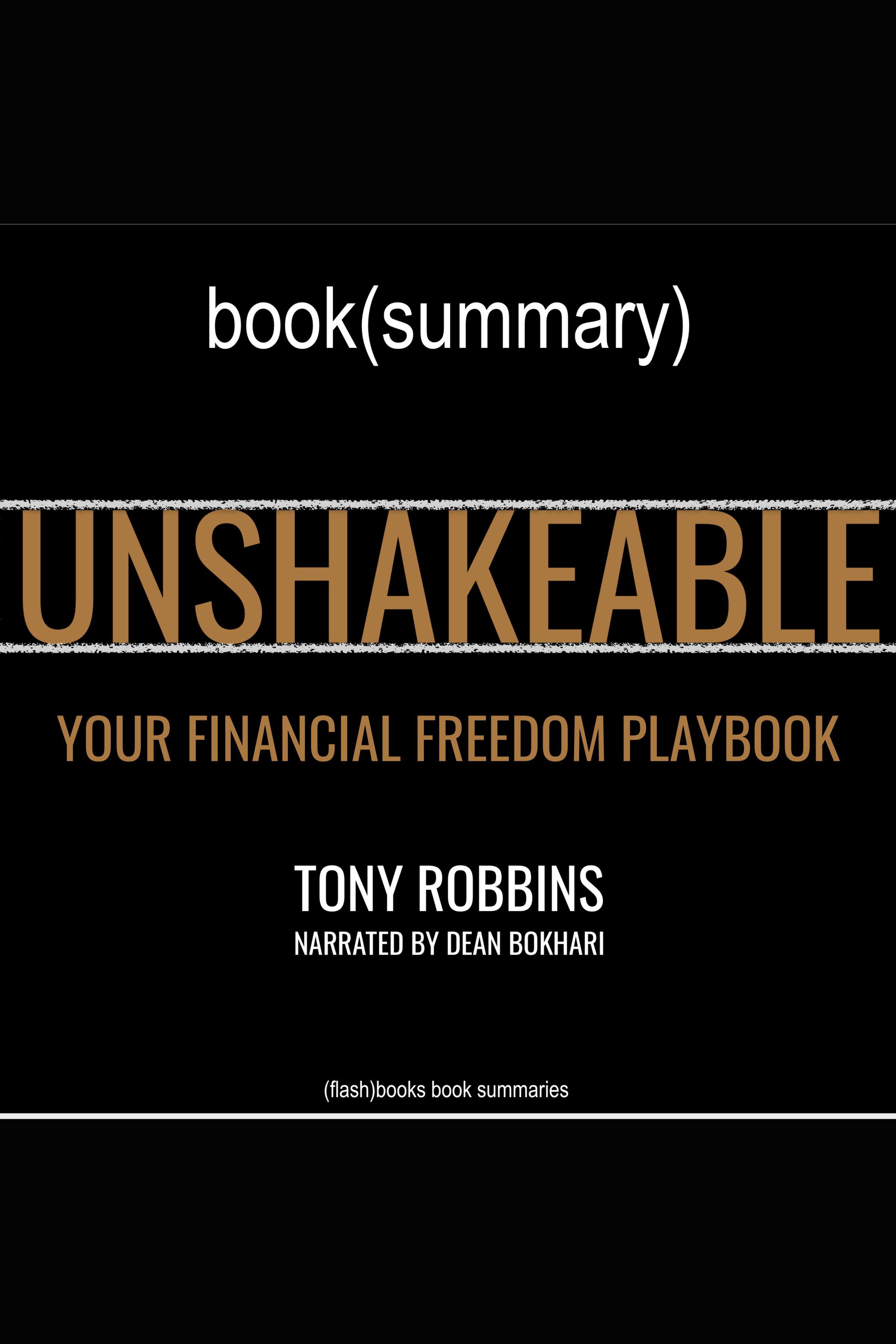 Esta es la portada del audiolibro Unshakeable by Anthony Robbins - Book Summary