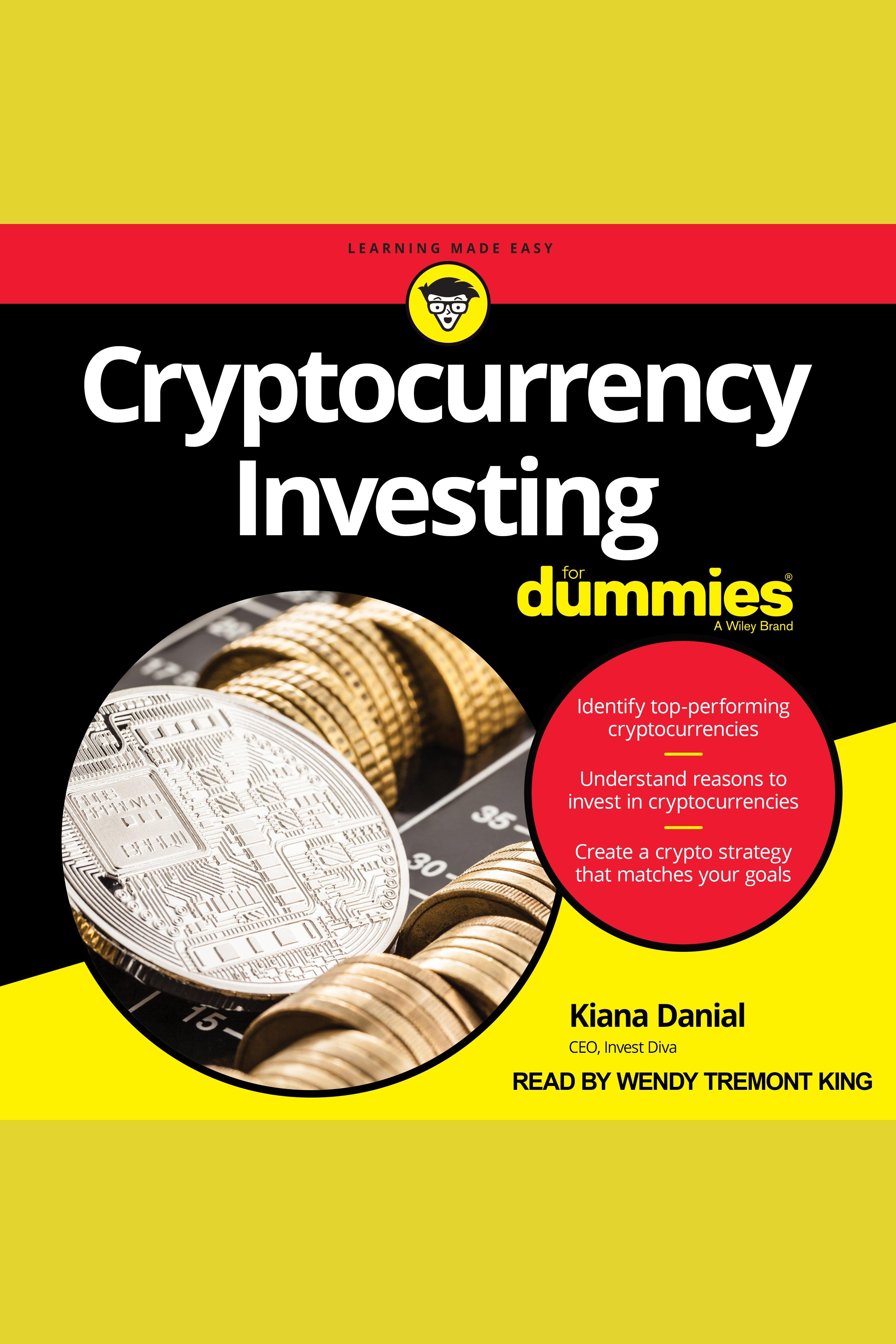 Esta es la portada del audiolibro Cryptocurrency Investing For Dummies