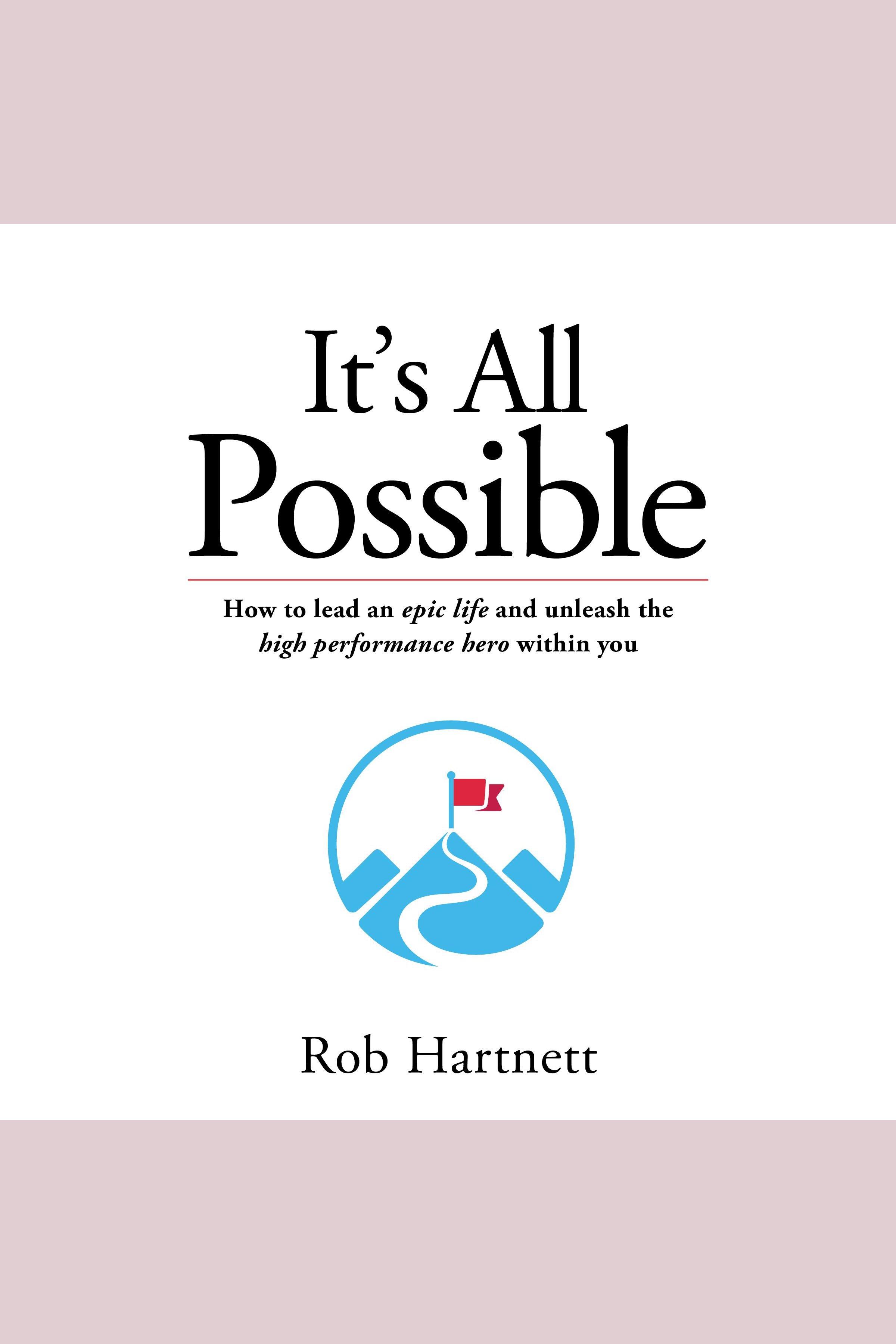 Esta es la portada del audiolibro It's All Possible