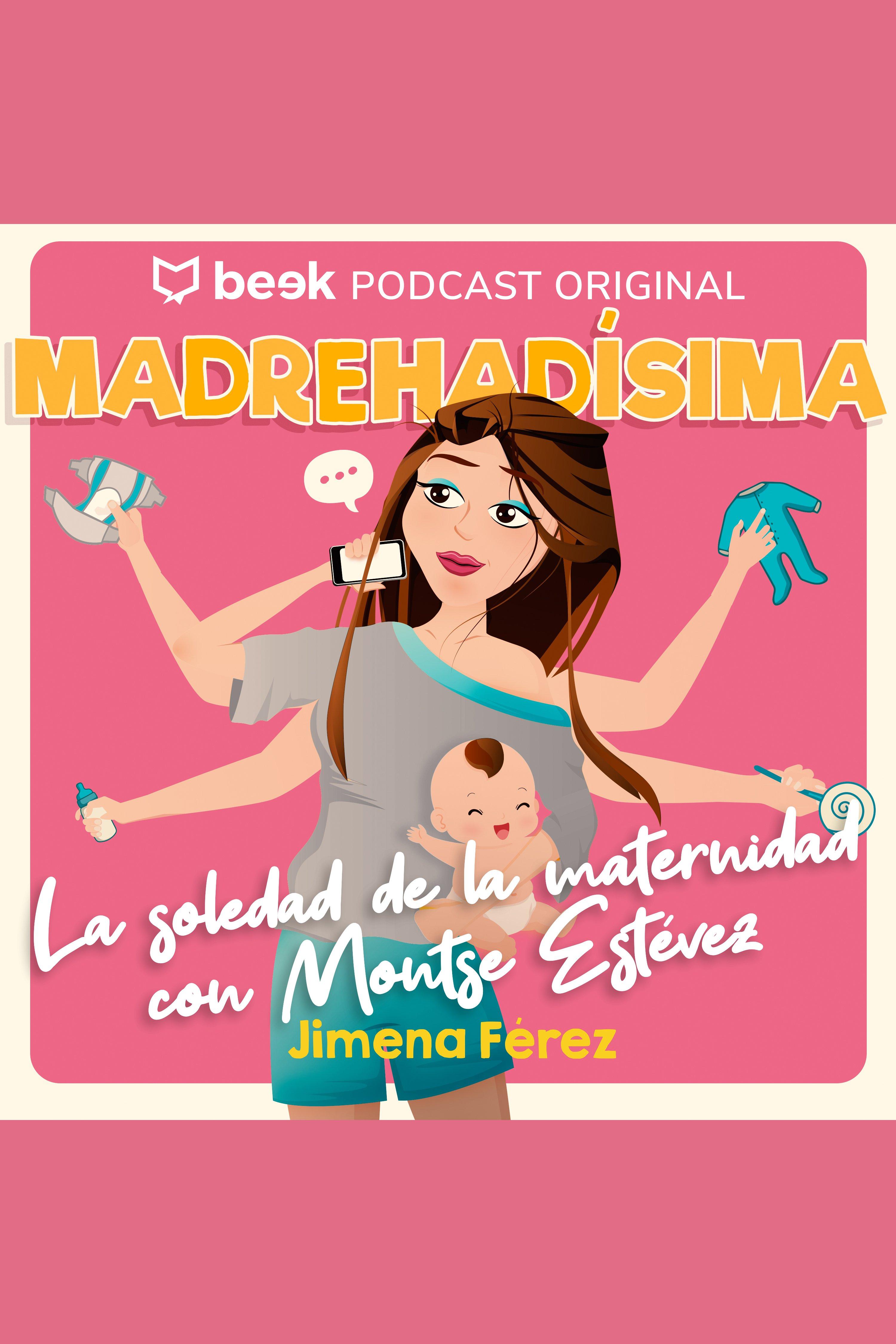 Esta es la portada del audiolibro La soledad de la maternidad