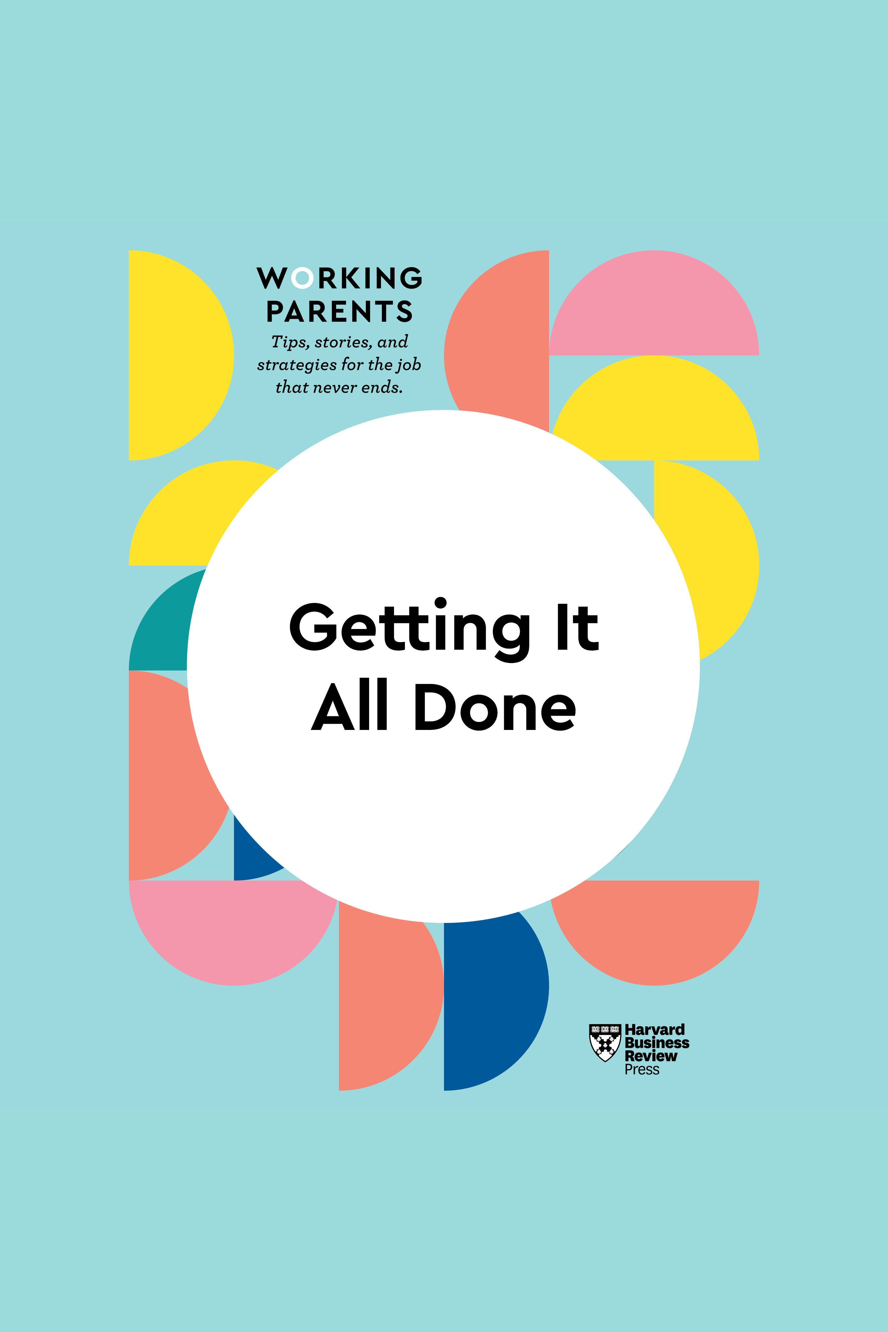 Esta es la portada del audiolibro Getting It All Done
