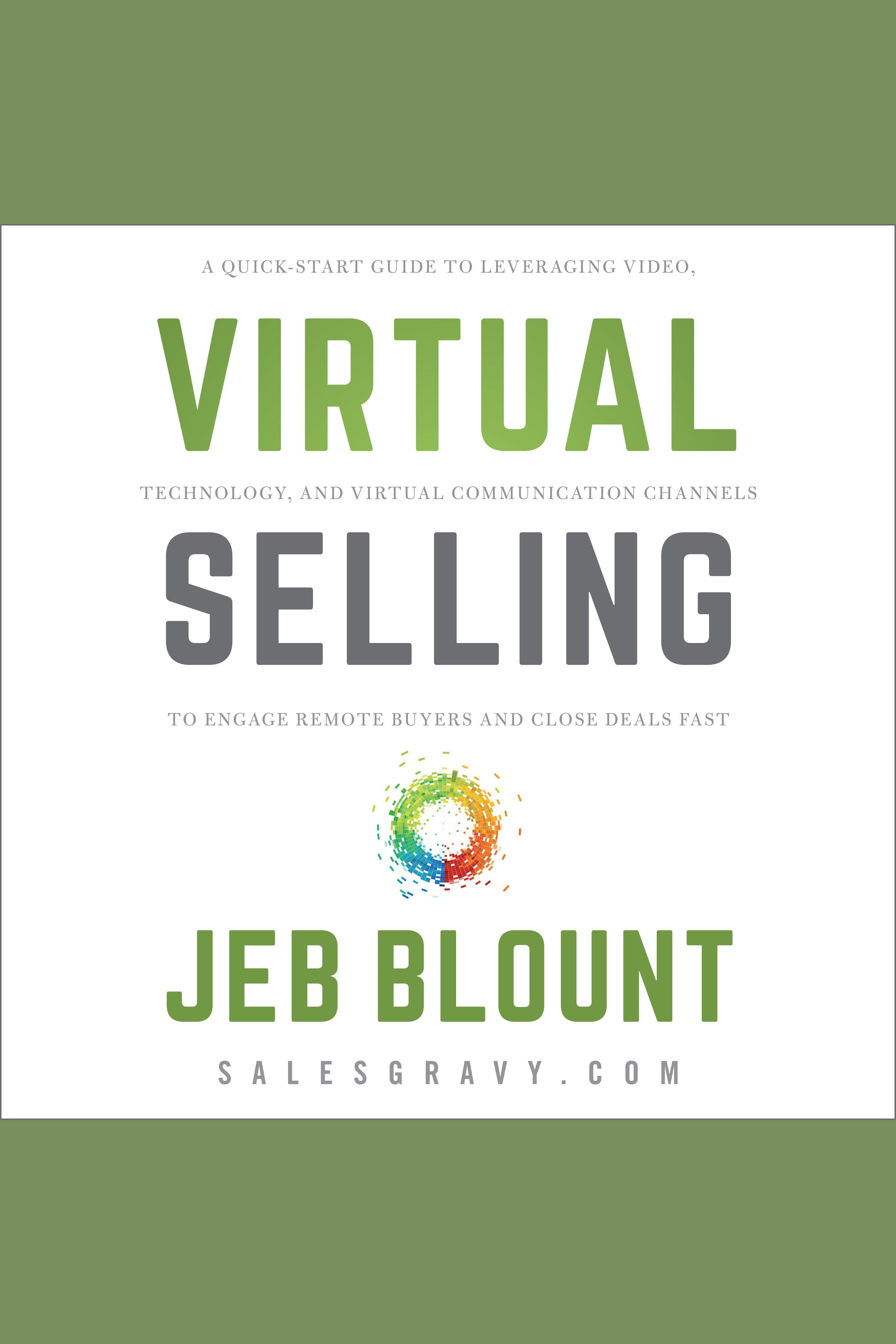 Esta es la portada del audiolibro Virtual Selling