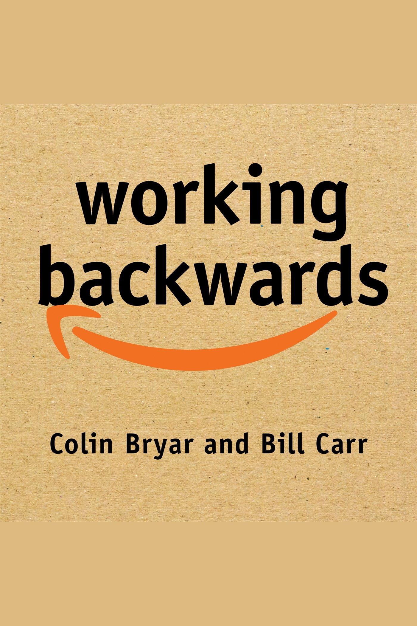 Esta es la portada del audiolibro Working Backwards
