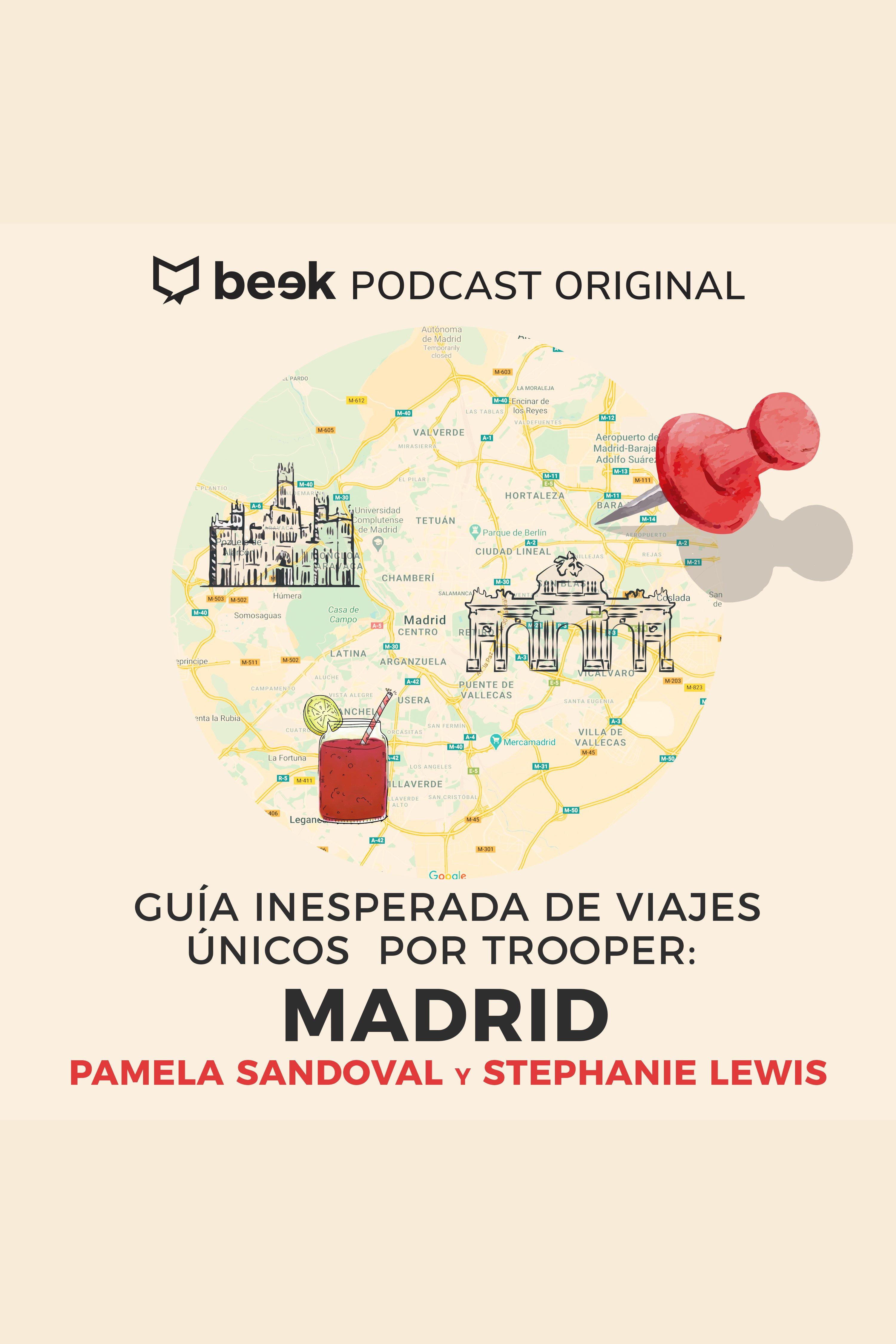 Esta es la portada del audiolibro Madrid