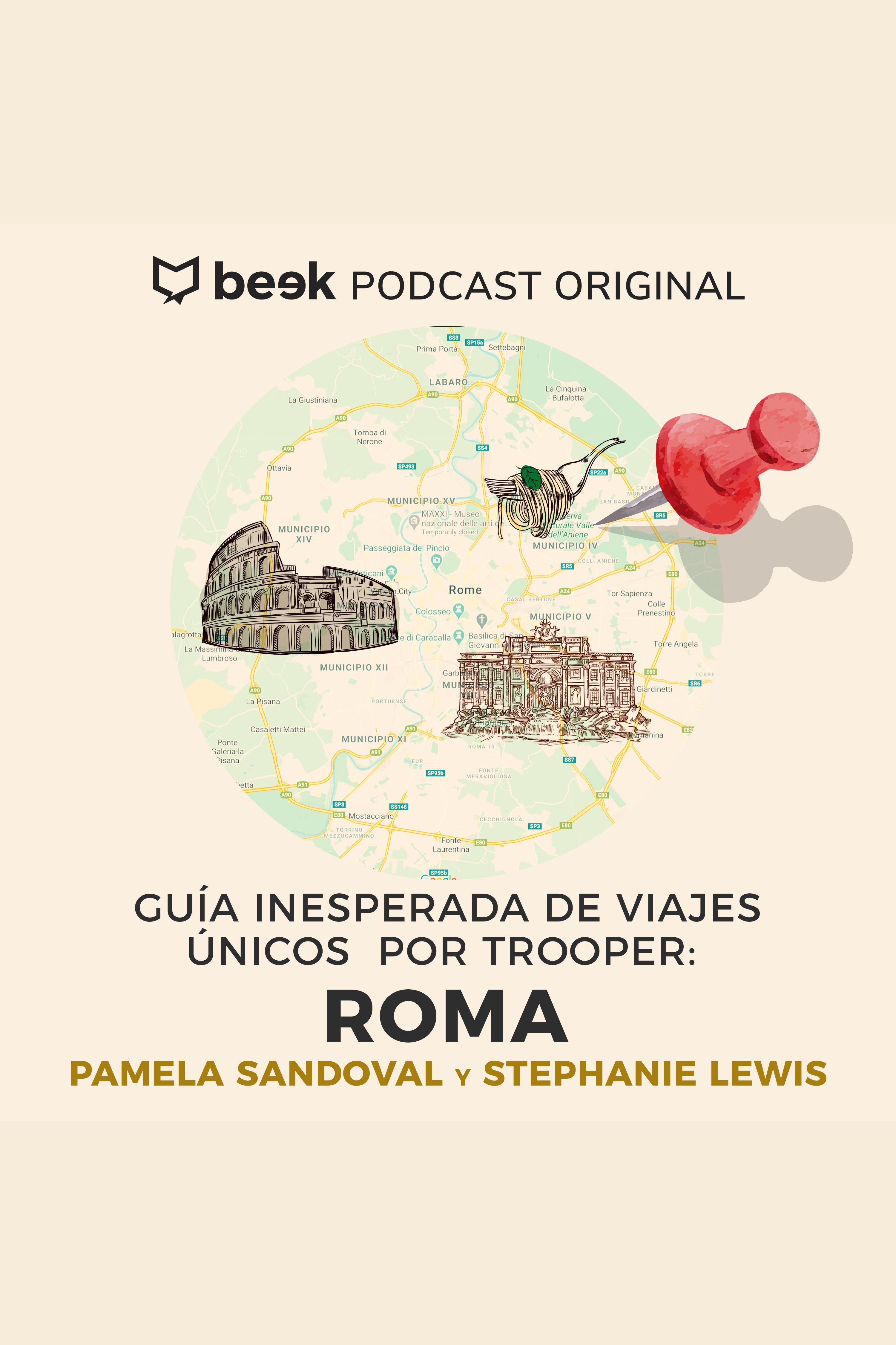 Esta es la portada del audiolibro Roma