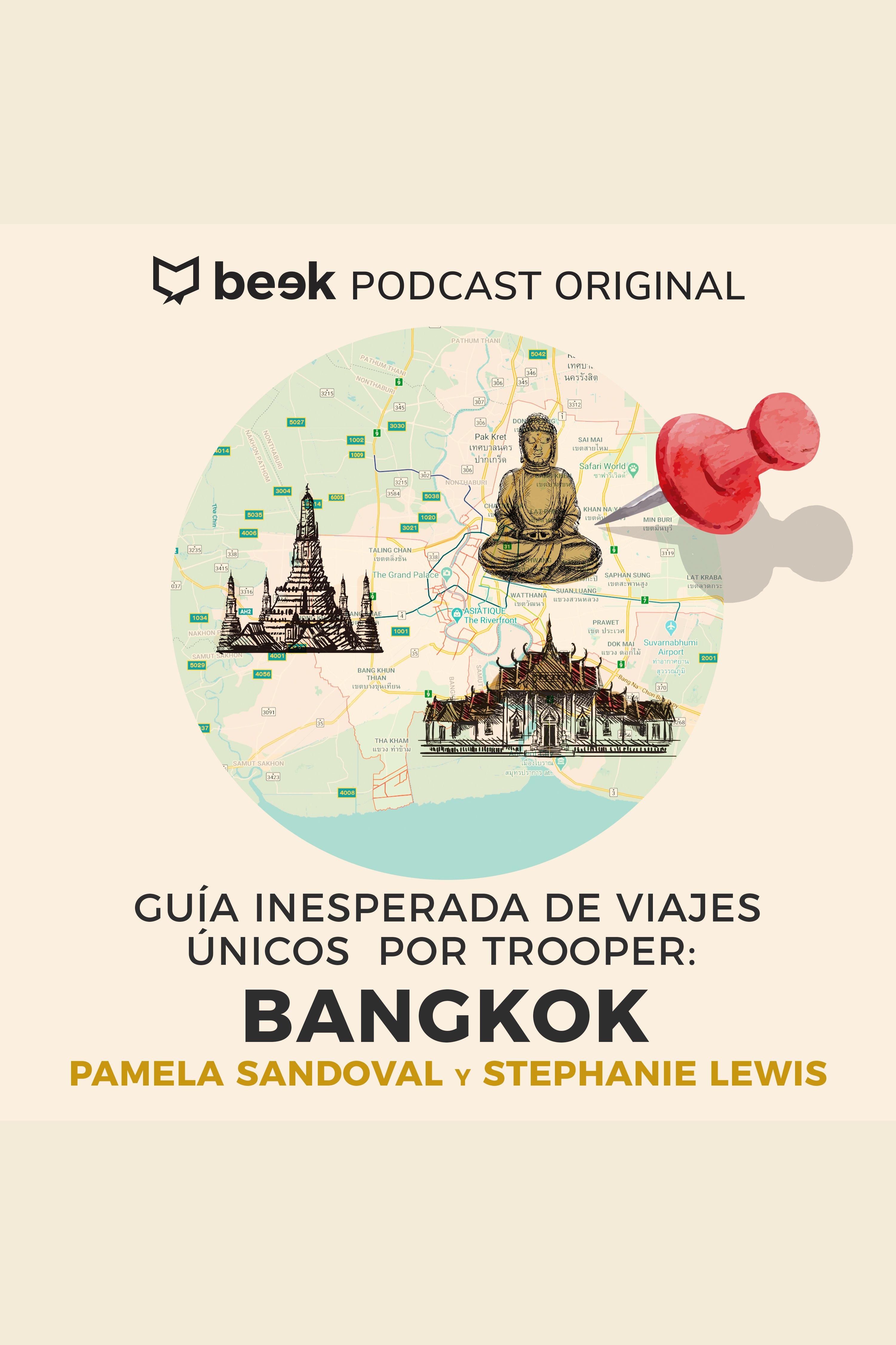 Esta es la portada del audiolibro Bangkok