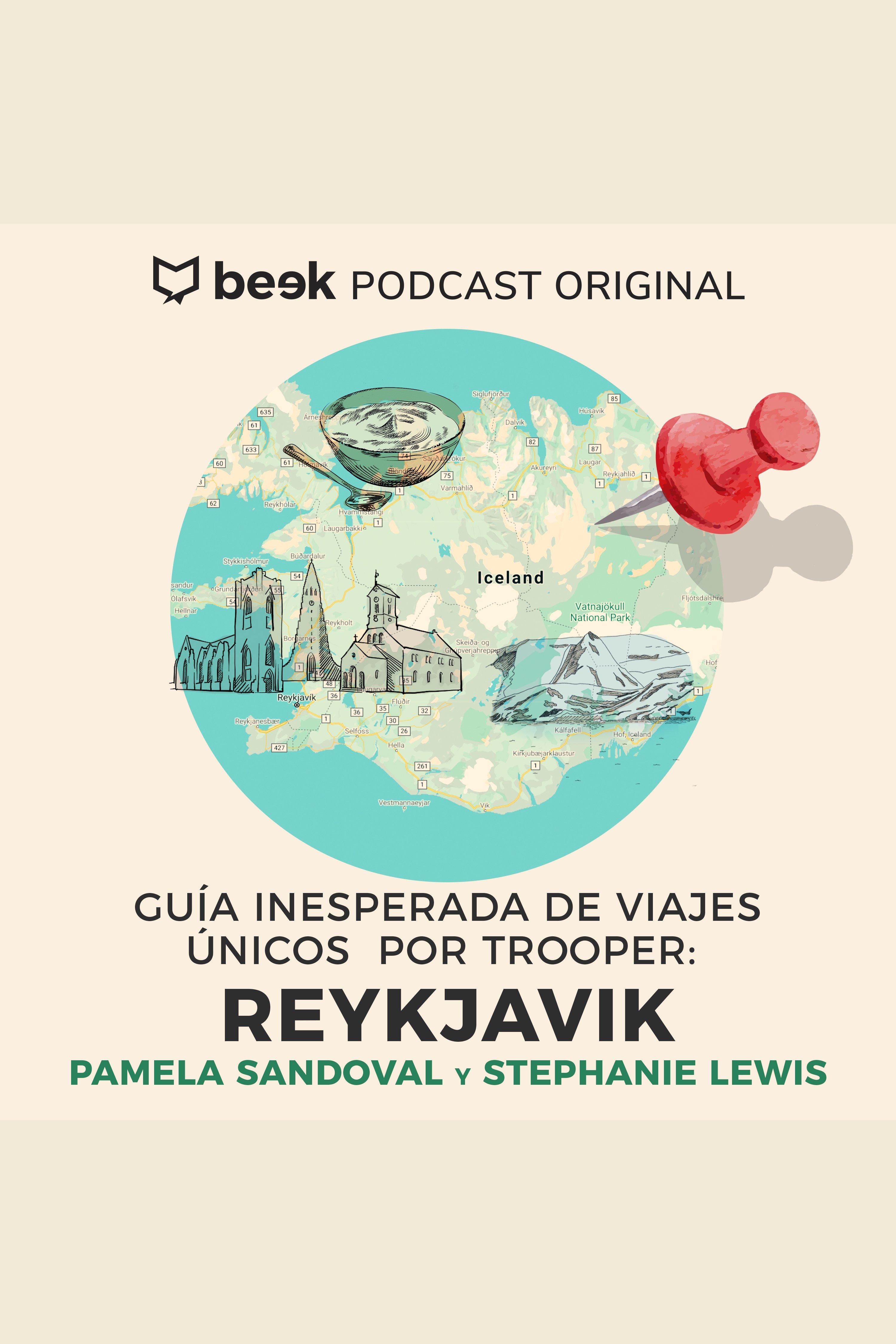 Esta es la portada del audiolibro Reykjavik