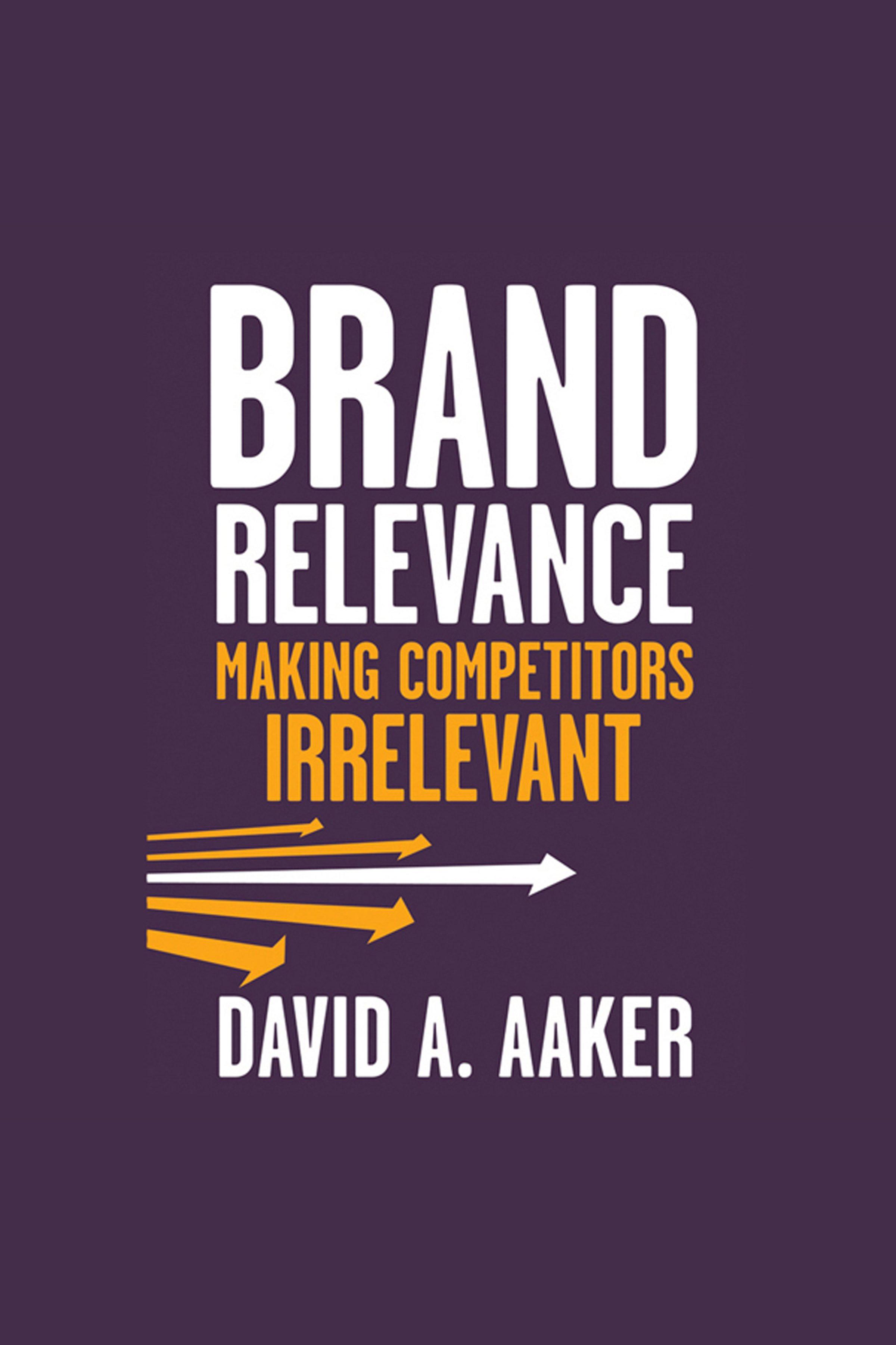 Esta es la portada del audiolibro Brand Relevance