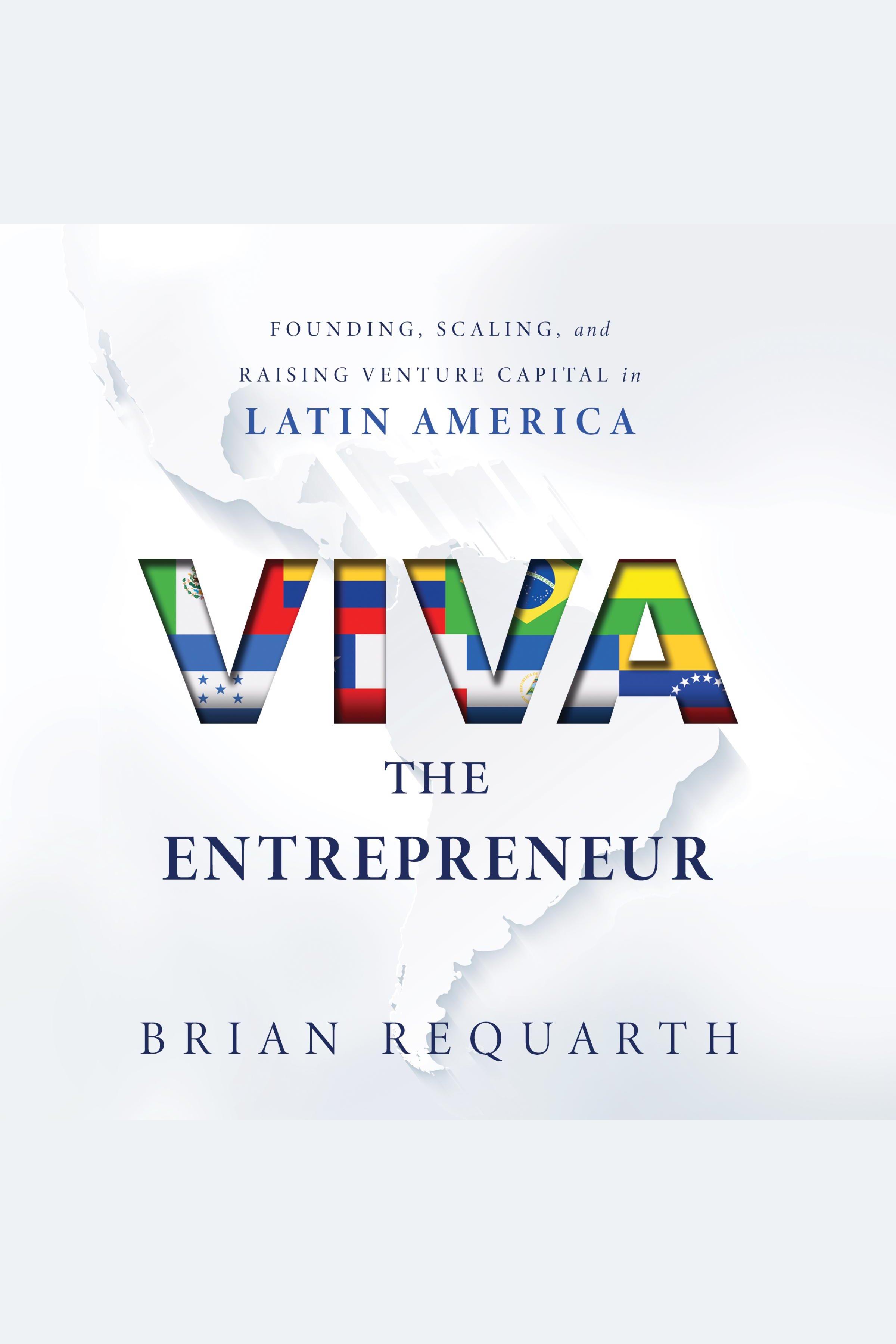 Esta es la portada del audiolibro Viva the Entrepreneur