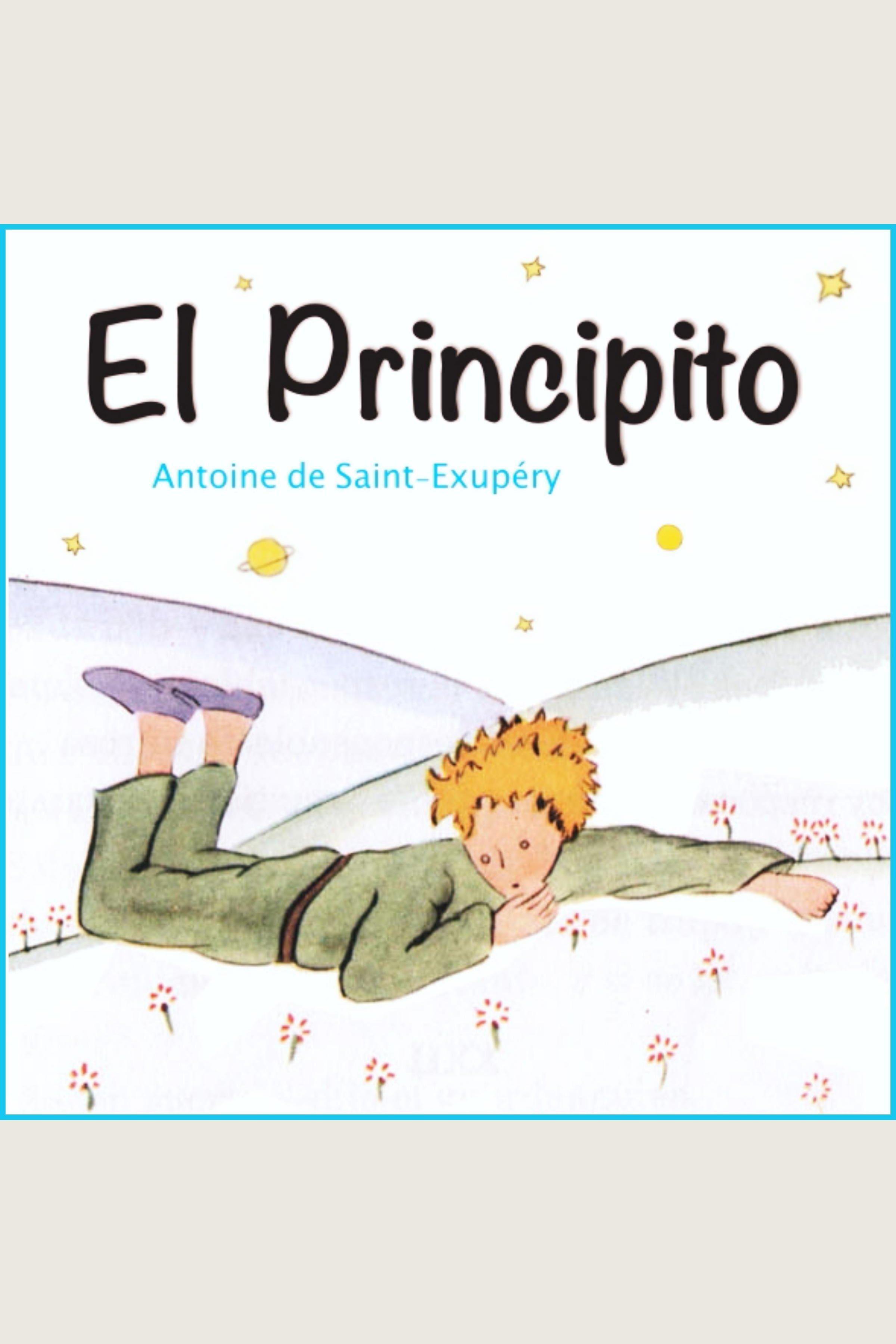 Esta es la portada del audiolibro El Principito